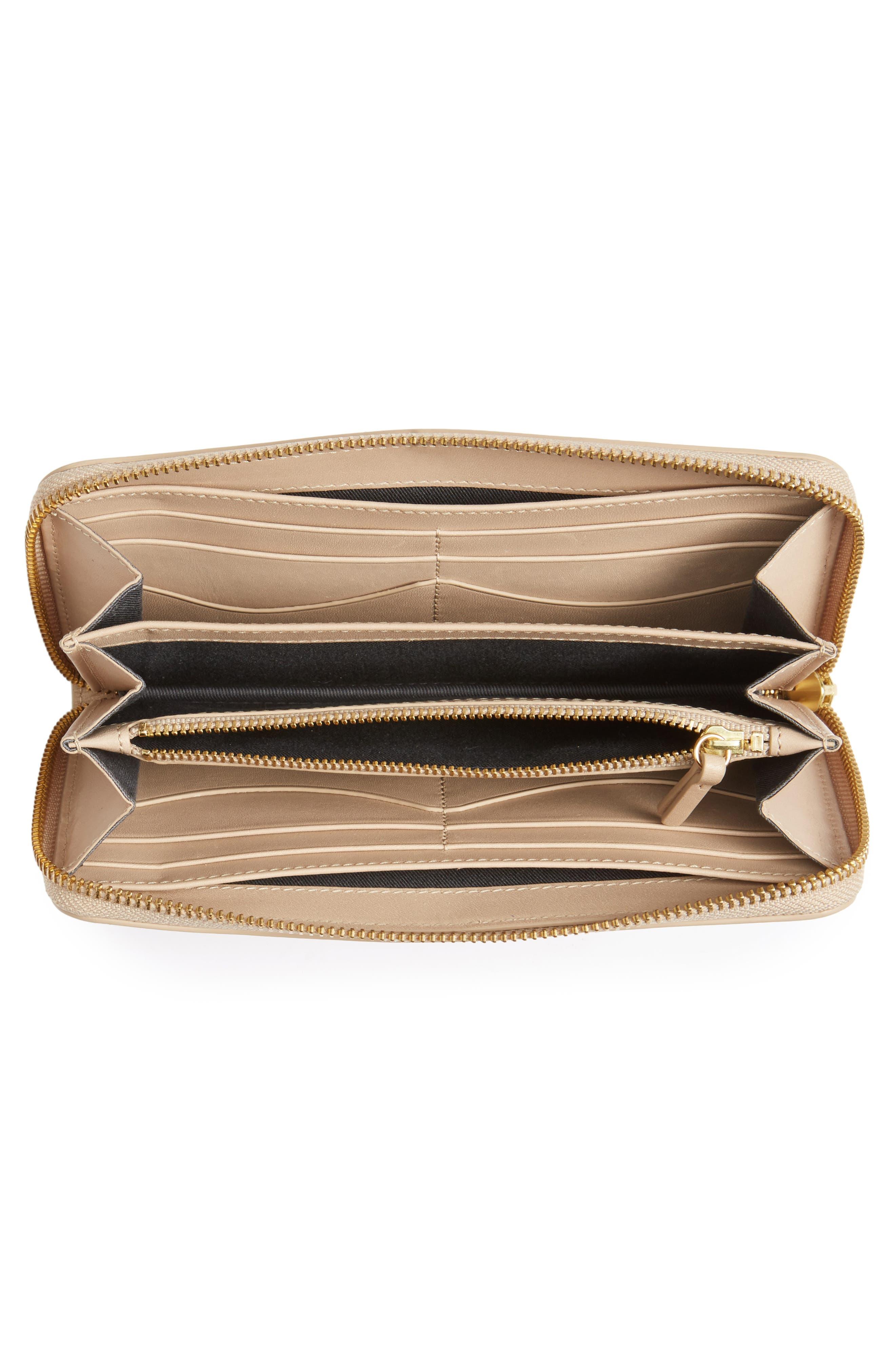 Alternate Image 2  - Skagen Leather Continental Wallet
