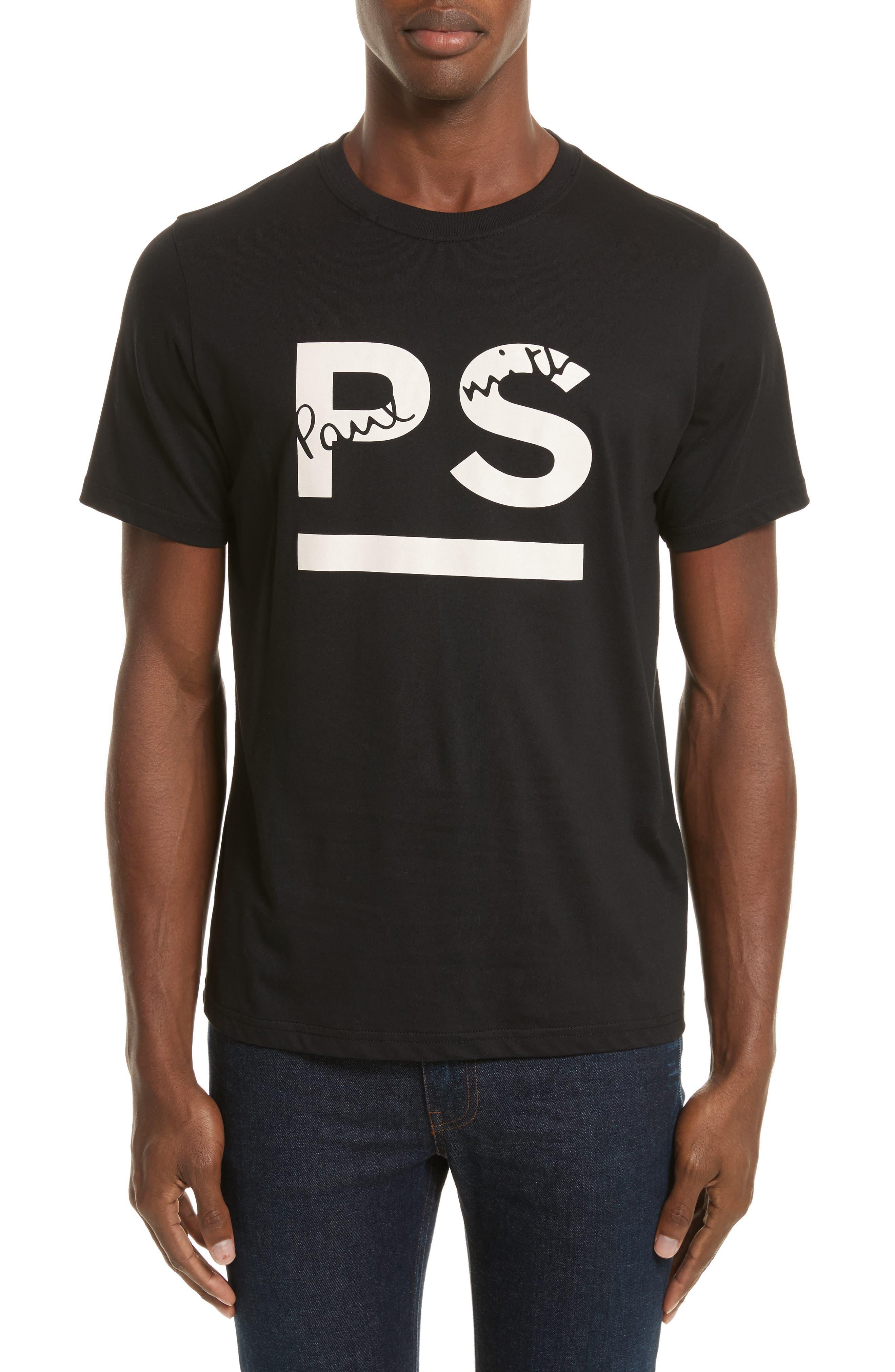 PS Graphic T-Shirt,                             Main thumbnail 1, color,                             Black