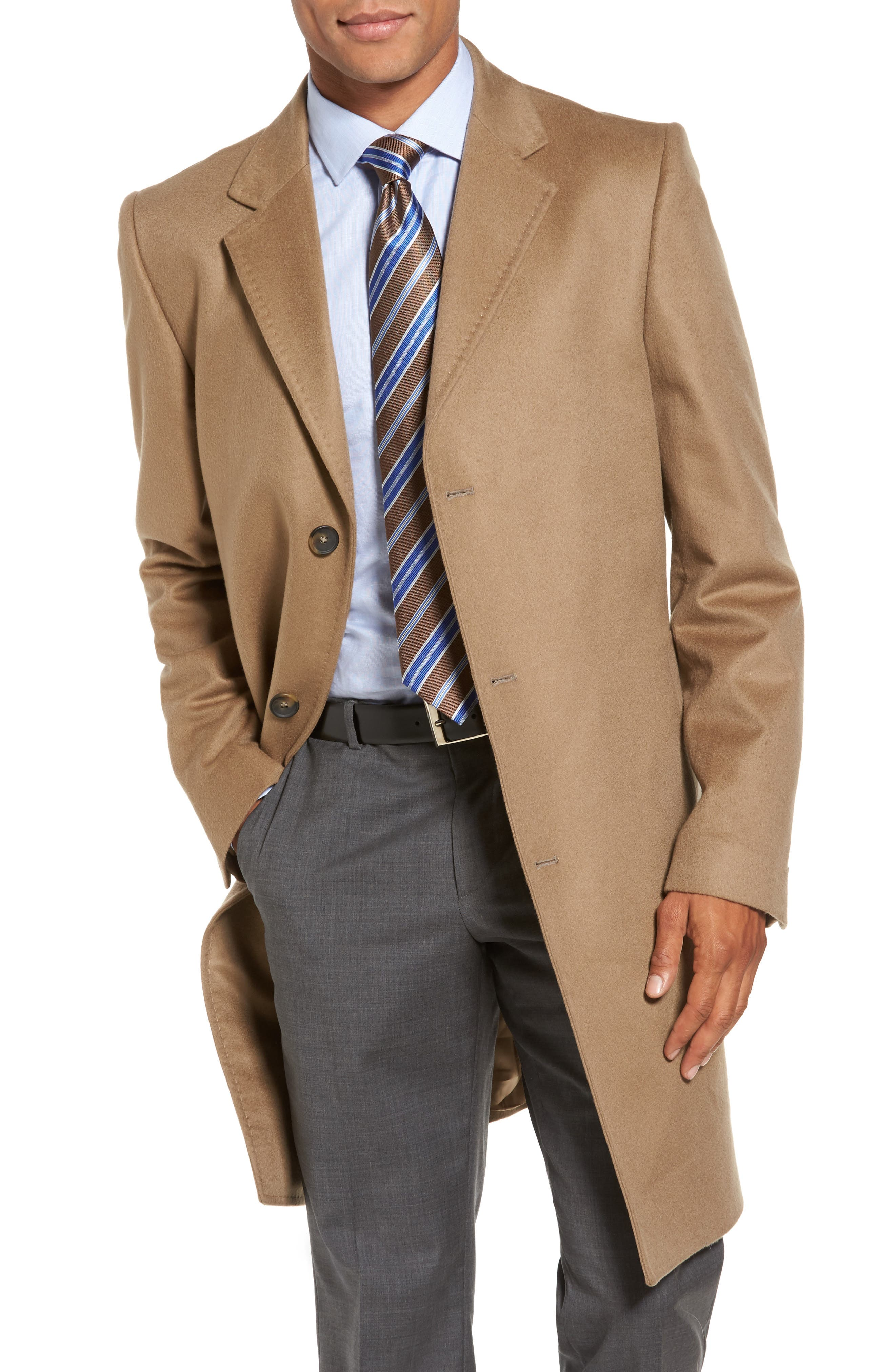 Main Image - Monte Rosso Carter Classic Fit Cashmere Overcoat