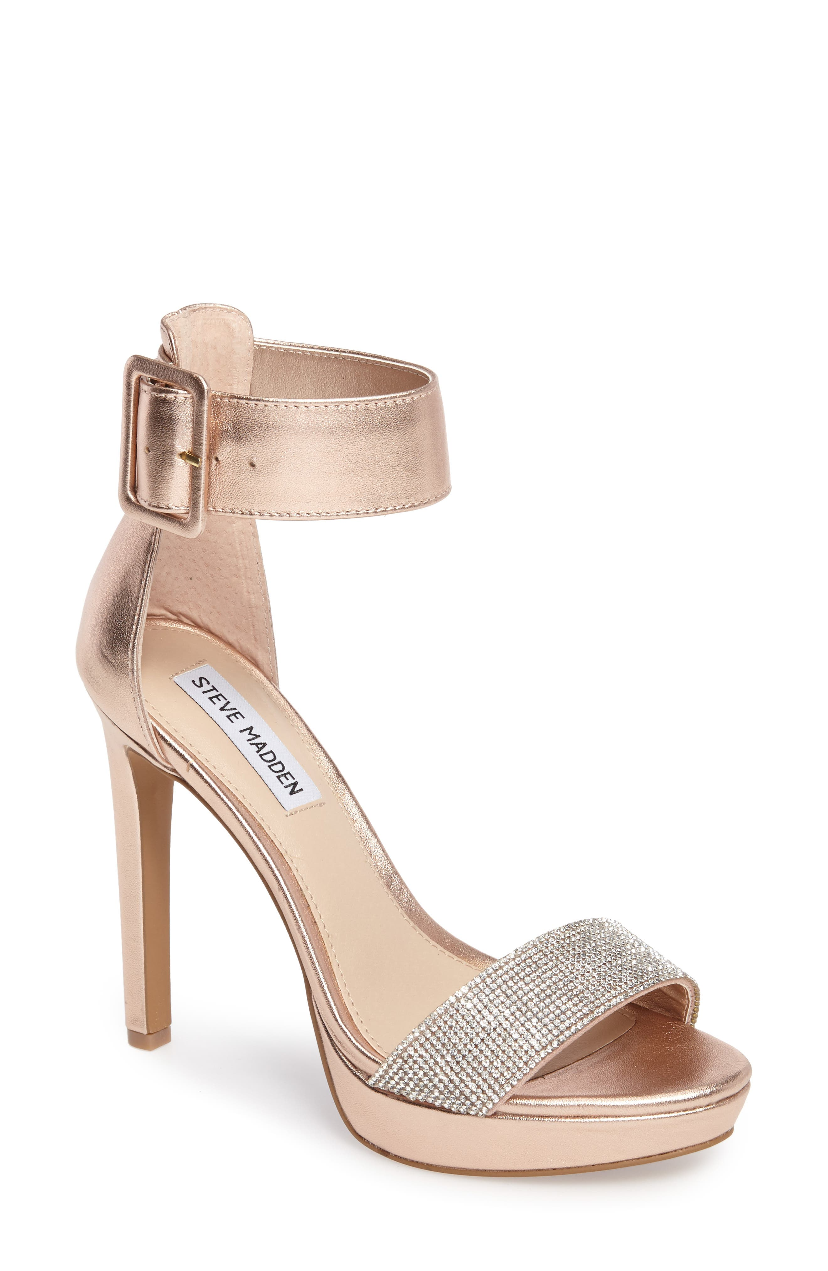 Circuit Sandal,                         Main,                         color, Rose Gold Leather