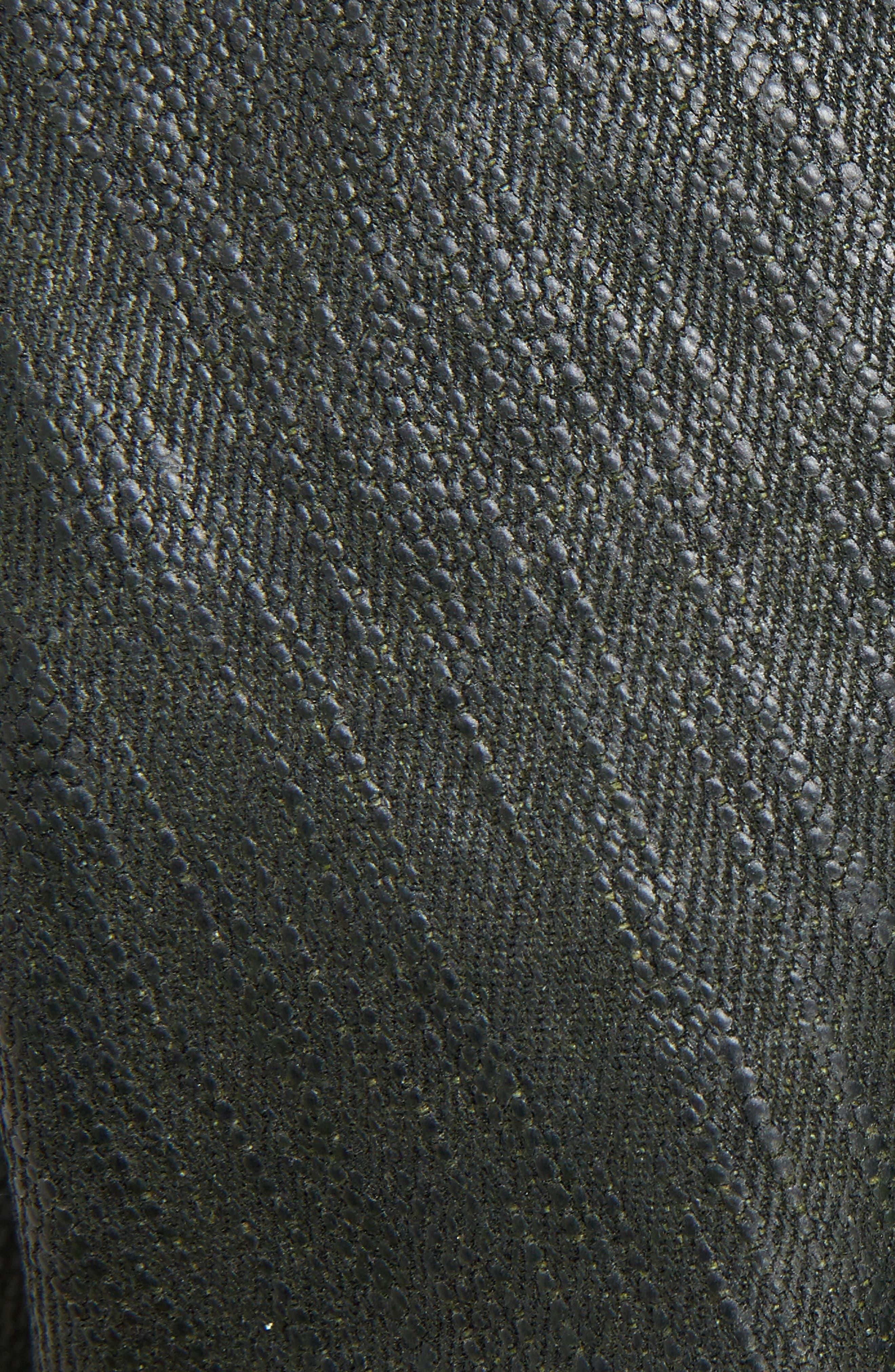 Alternate Image 5  - Rick Owens Knit Sleeve Waxed Cotton Jacket