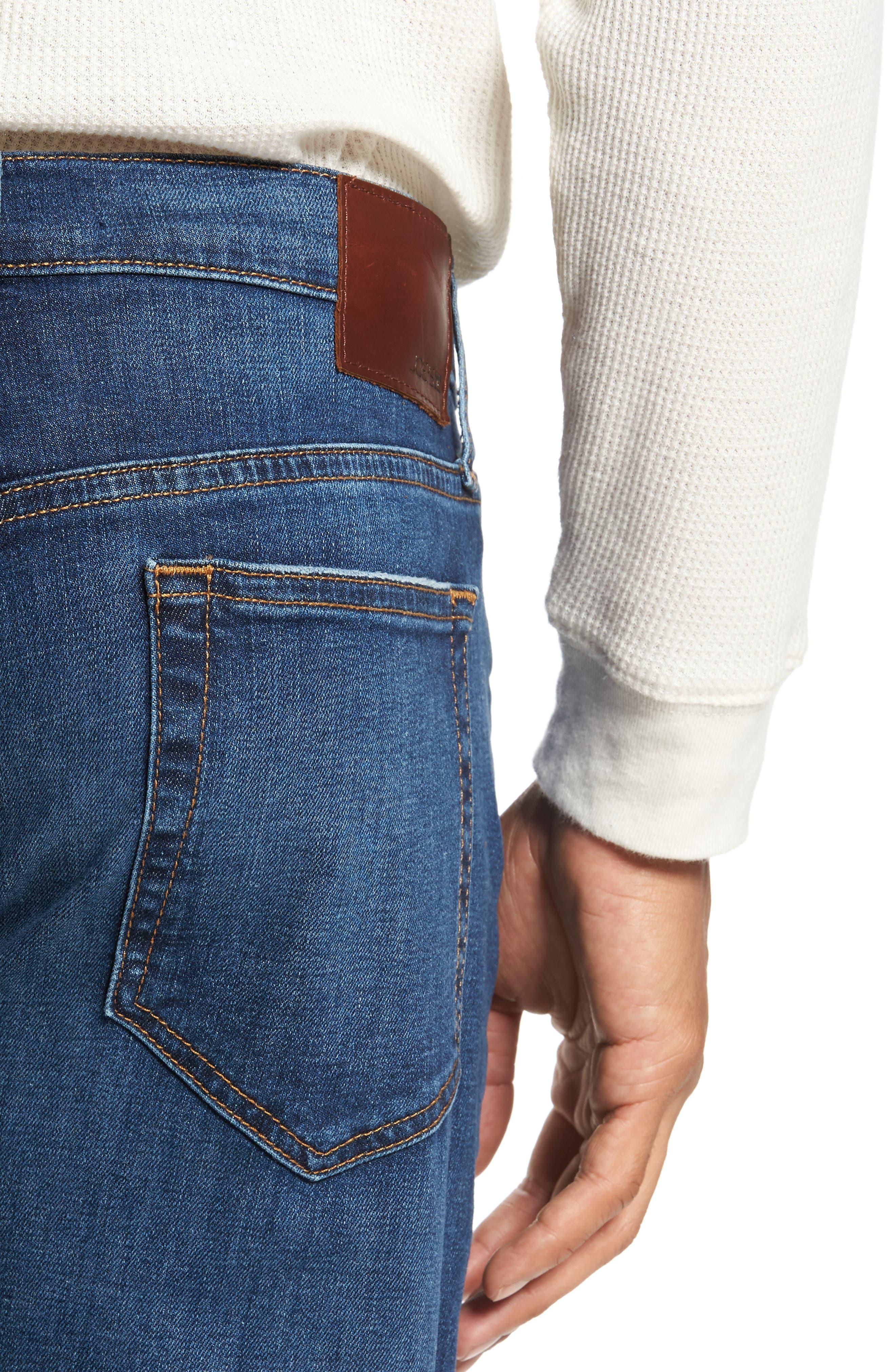 Brixton Slim Straight Leg Jeans,                             Alternate thumbnail 4, color,                             Bradlee