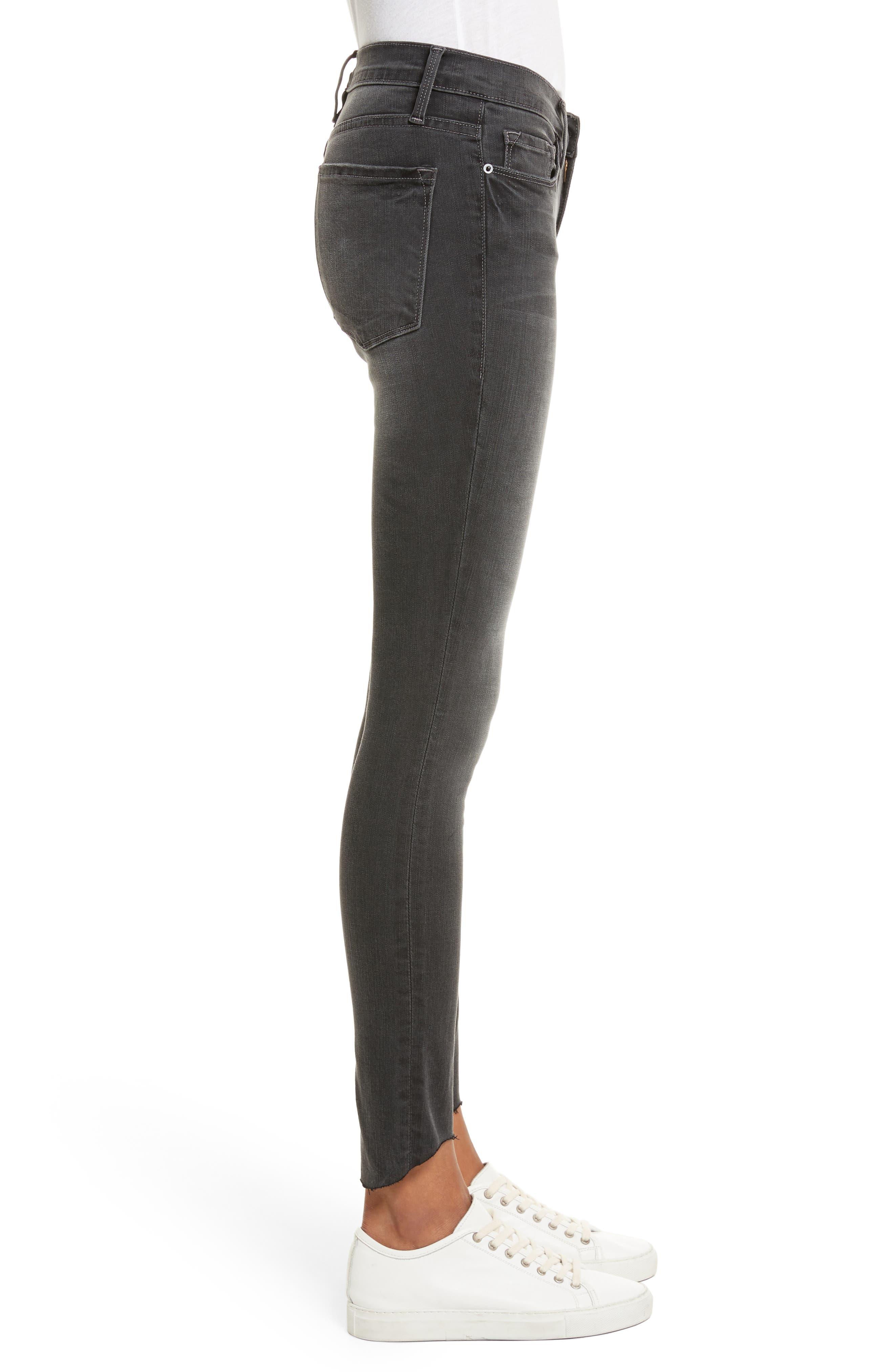 Le Skinny de Jeanne Ankle Jeans,                             Alternate thumbnail 3, color,                             Harlow