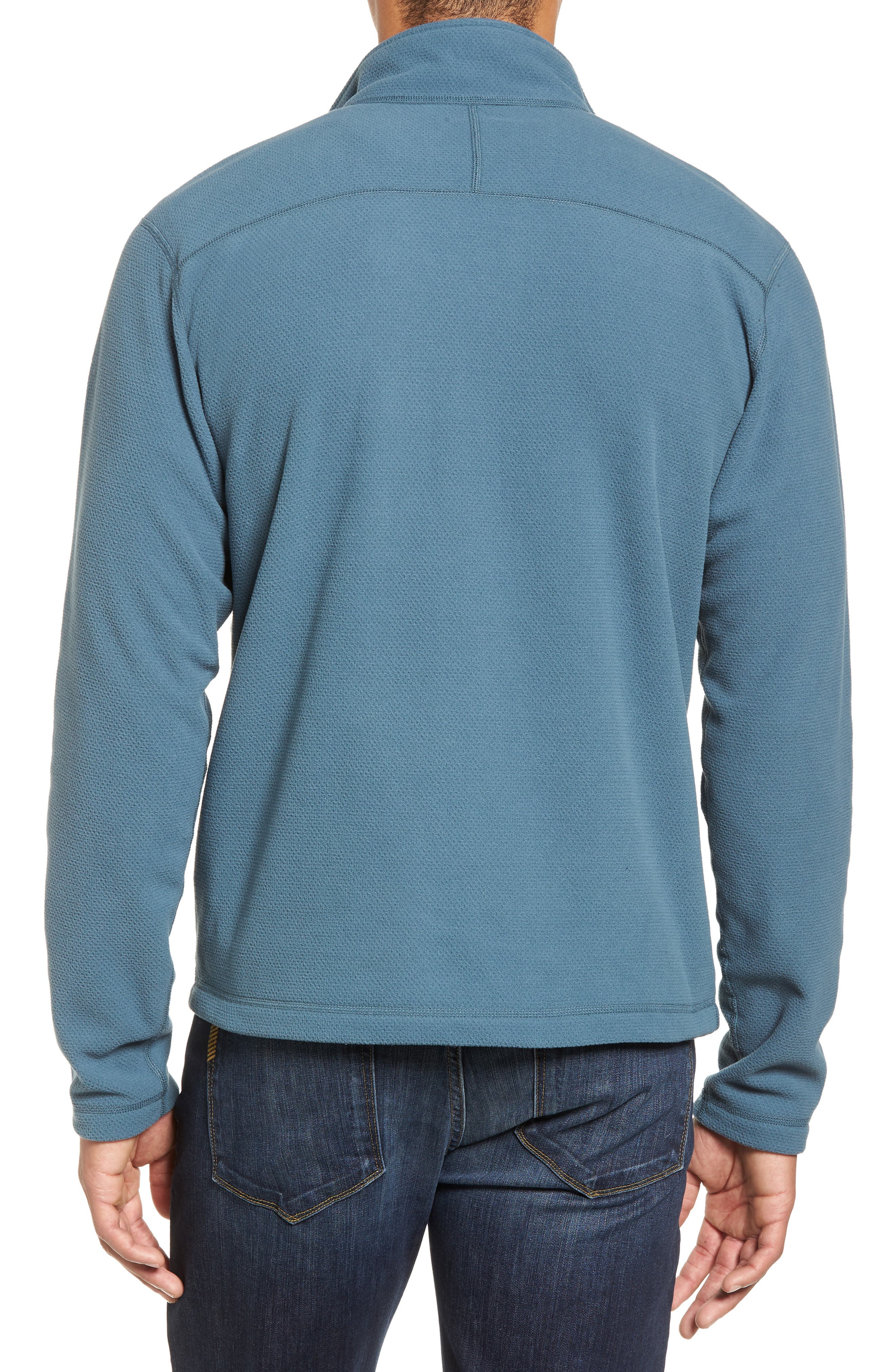 Cap Rock Fleece Jacket,                             Alternate thumbnail 2, color,                             Conquer Blue