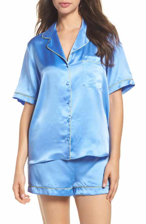 Christine Lingerie Silk Short Pajamas
