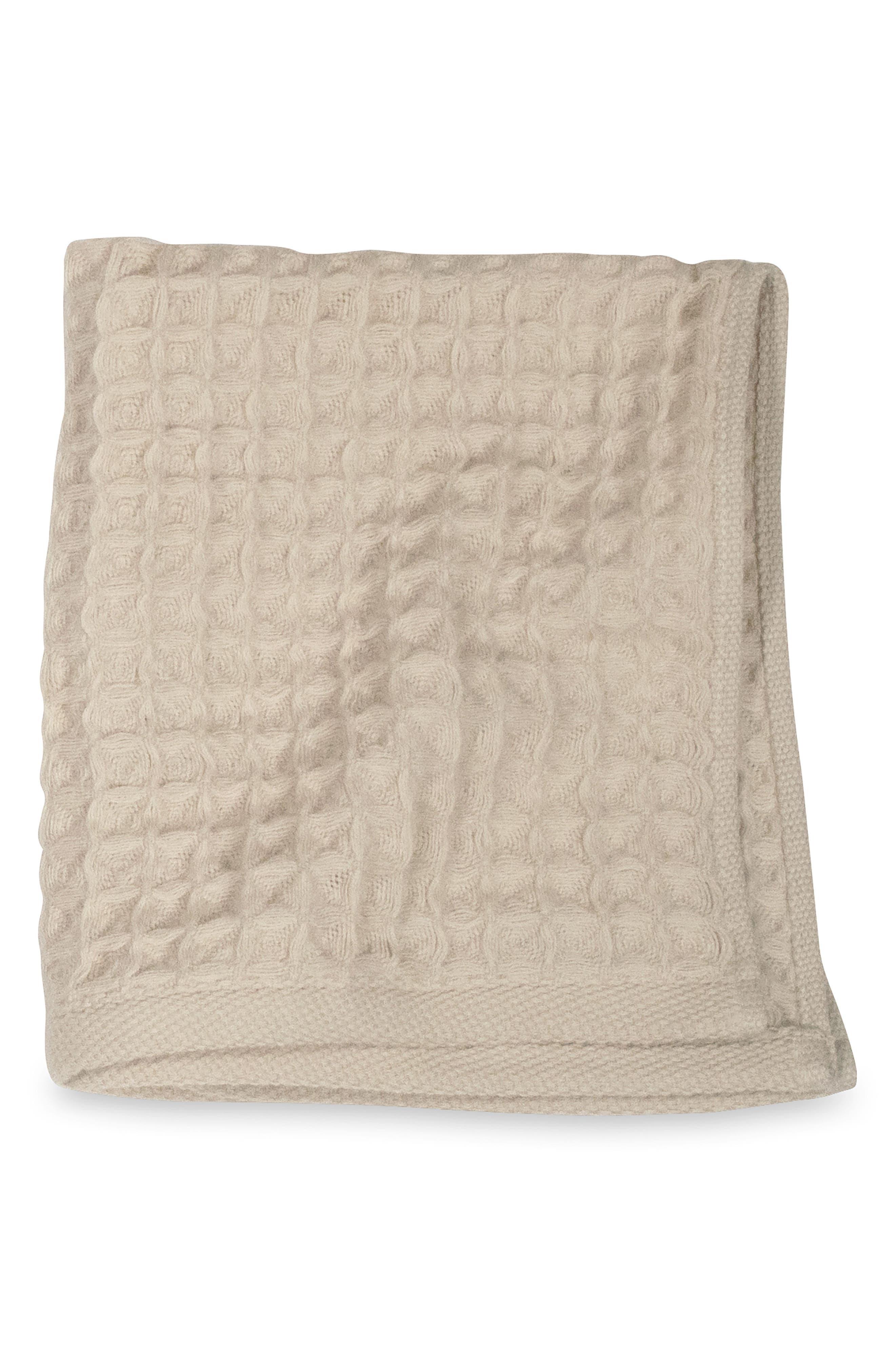 Air Waffle Washcloth,                         Main,                         color, Beige