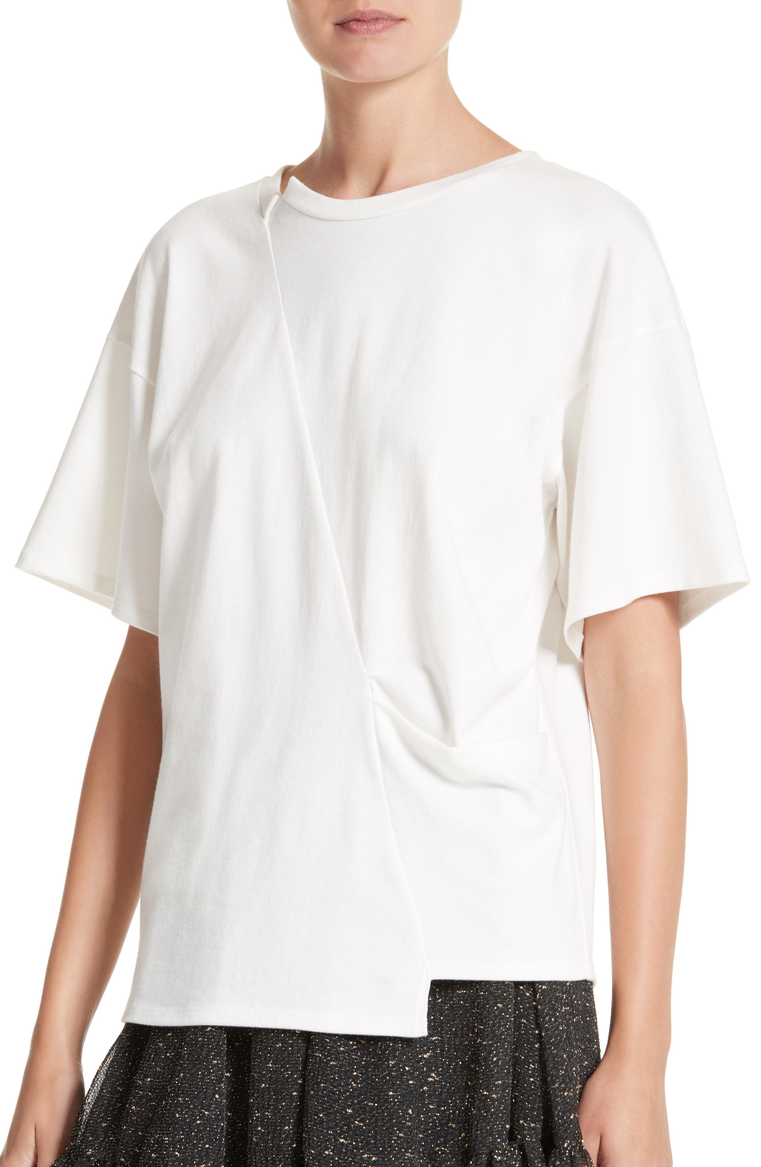 Alternate Image 4  - Rejina Pyo Asymmetrical Side Pleat Tee