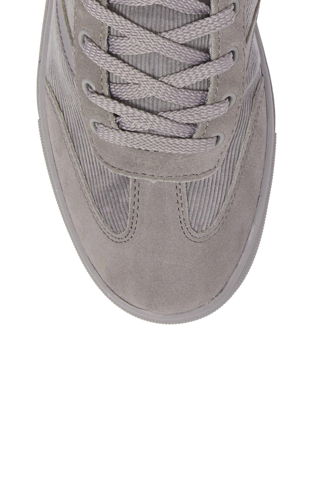 Jack High Top Sneaker,                             Alternate thumbnail 5, color,                             Grey/ Grey