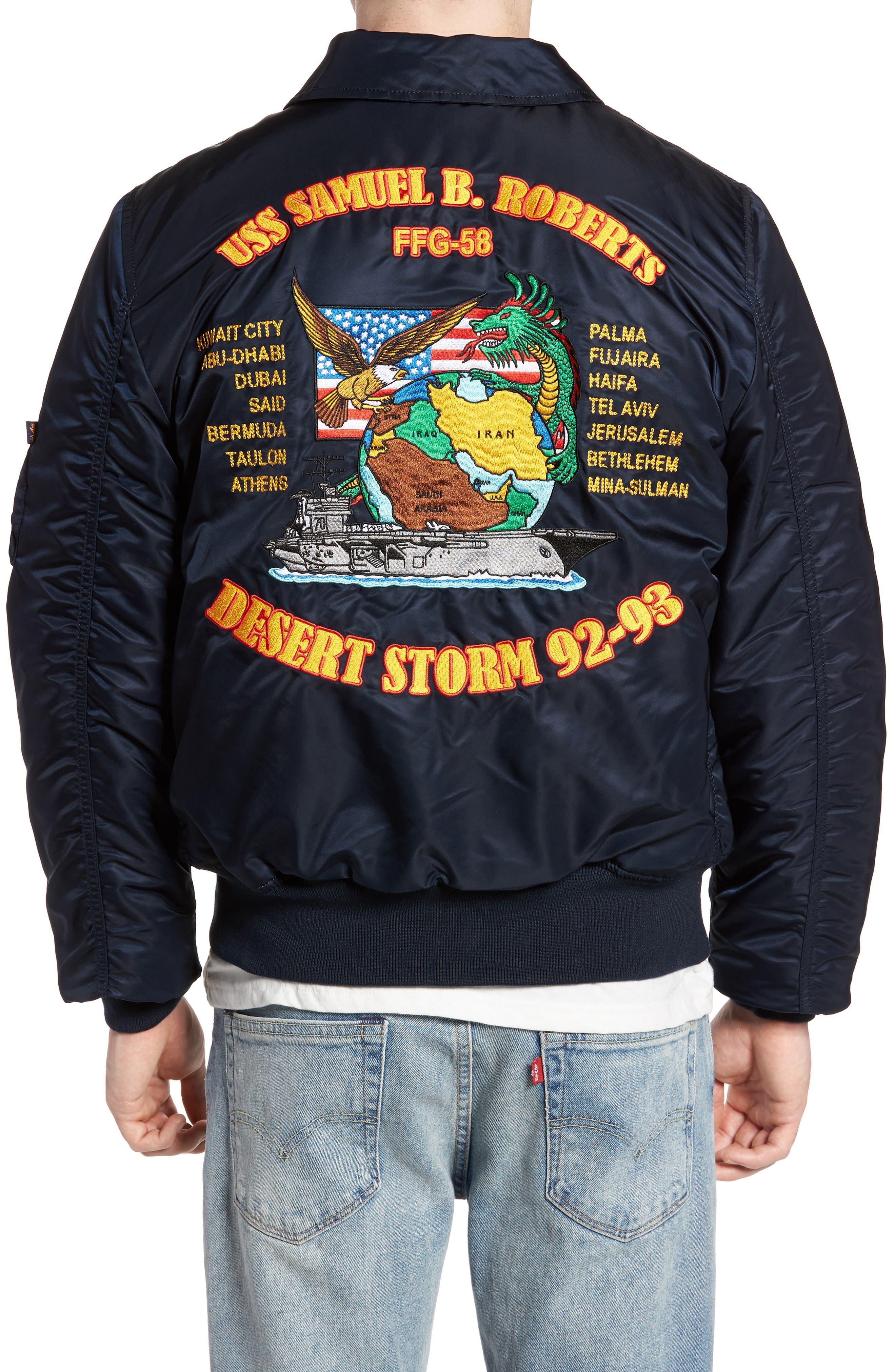 CWO 45/P Storm Cruise Jacket,                             Alternate thumbnail 2, color,                             Replica Blue