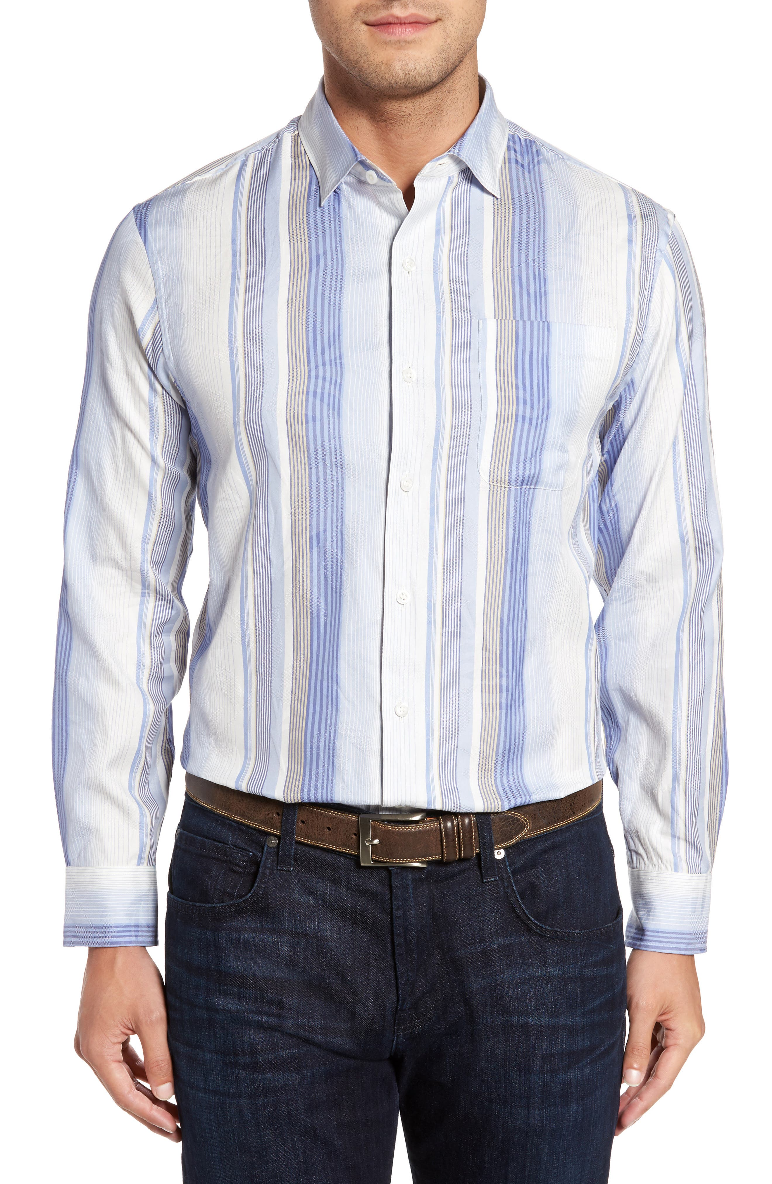 Alternate Image 1 Selected - Tommy Bahama No You Tiznit Sport Shirt