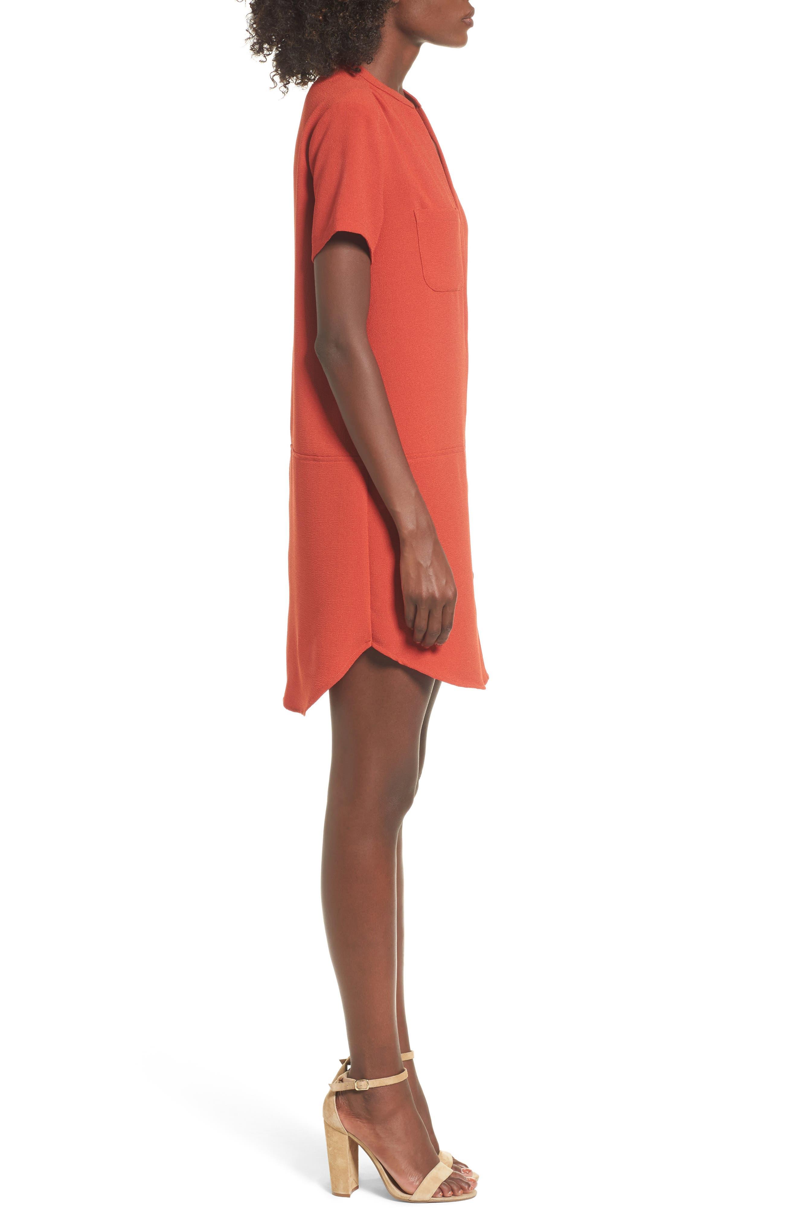 Alternate Image 3  - Hailey Crepe Dress