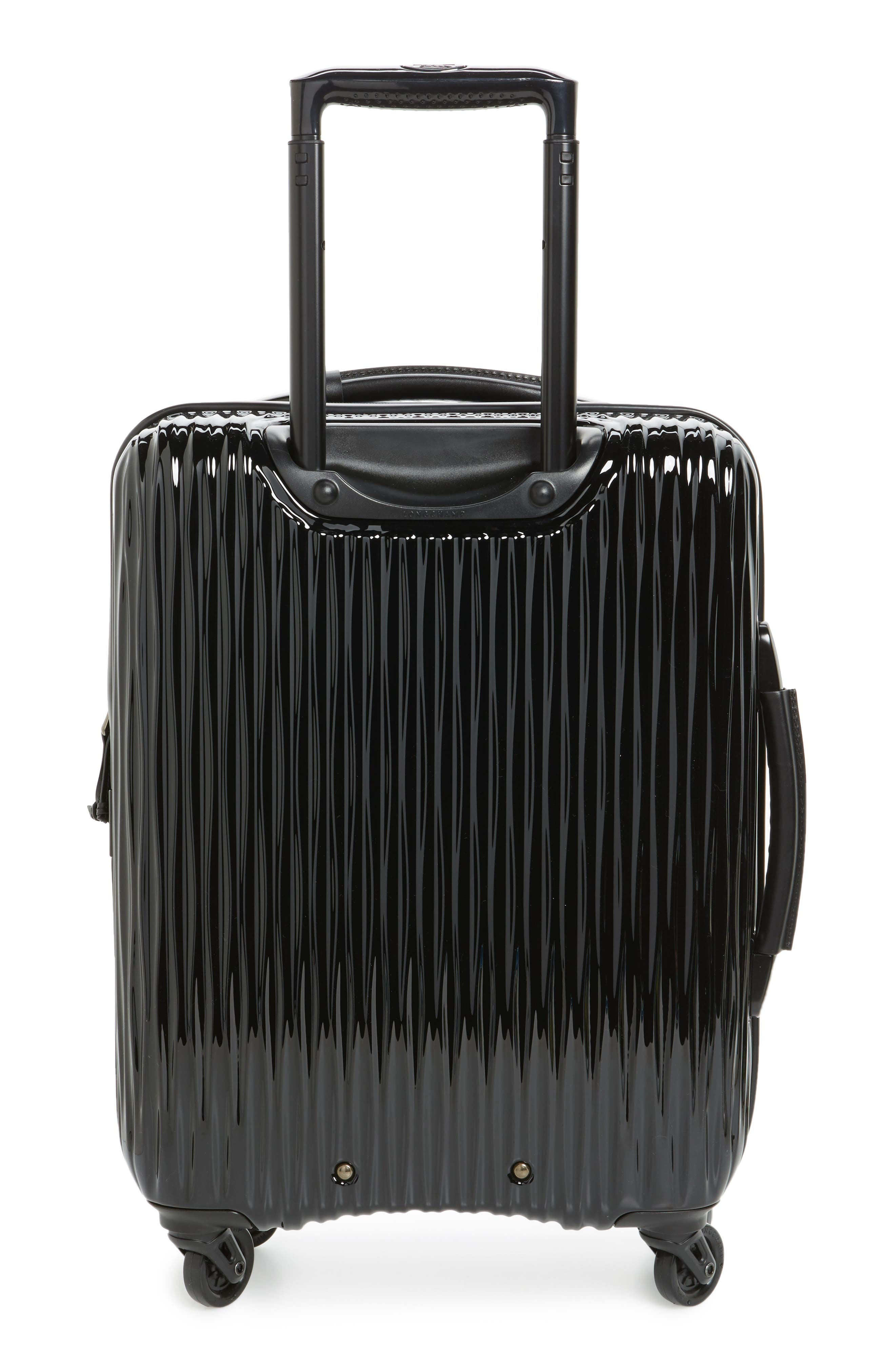 Ruban 22-Inch Four-Wheel Hard Shell Suitcase,                             Alternate thumbnail 3, color,                             Blk/ Pilblue