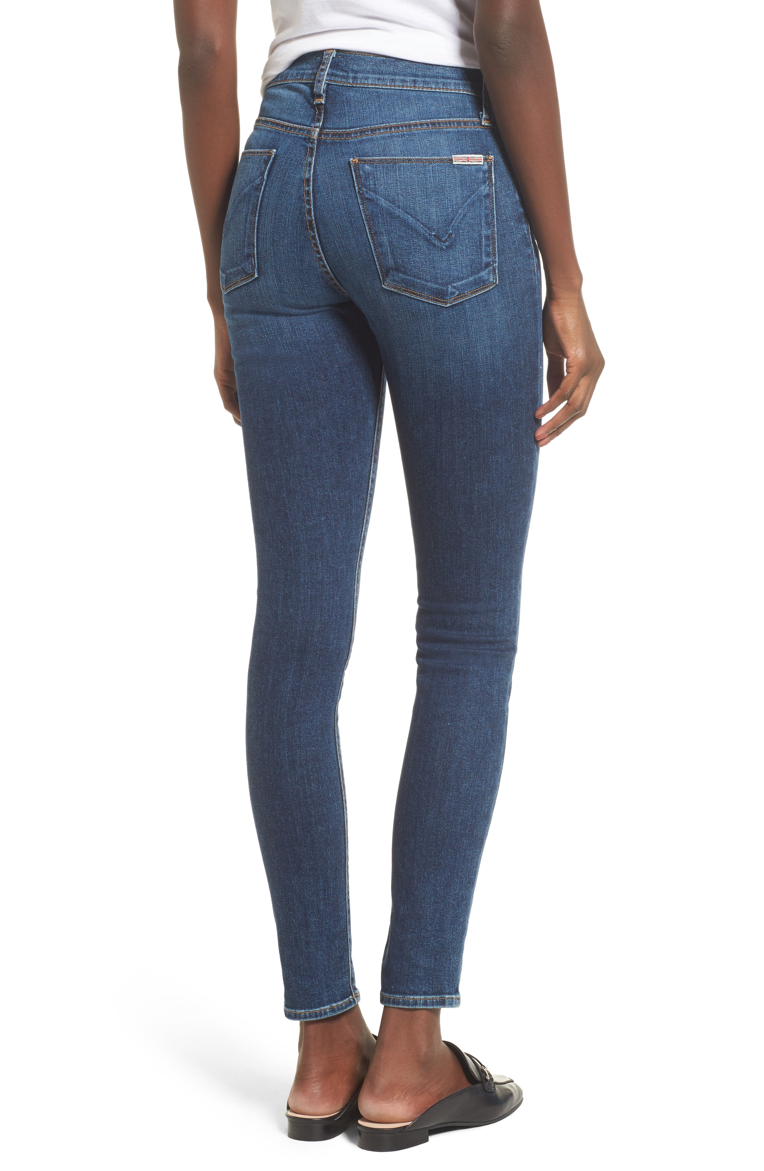 Barbara High Waist Super Skinny Jeans,                             Alternate thumbnail 2, color,                             Realism