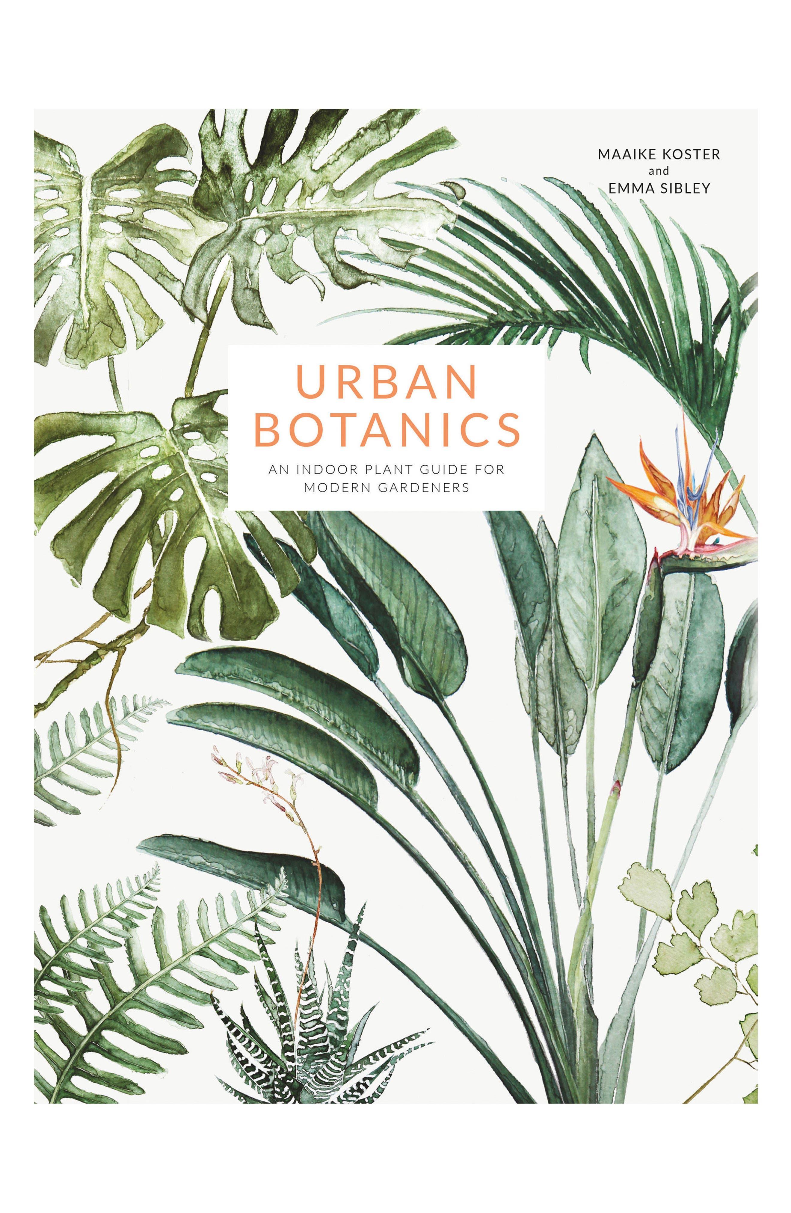 Urban Botanics Book,                         Main,                         color, Green