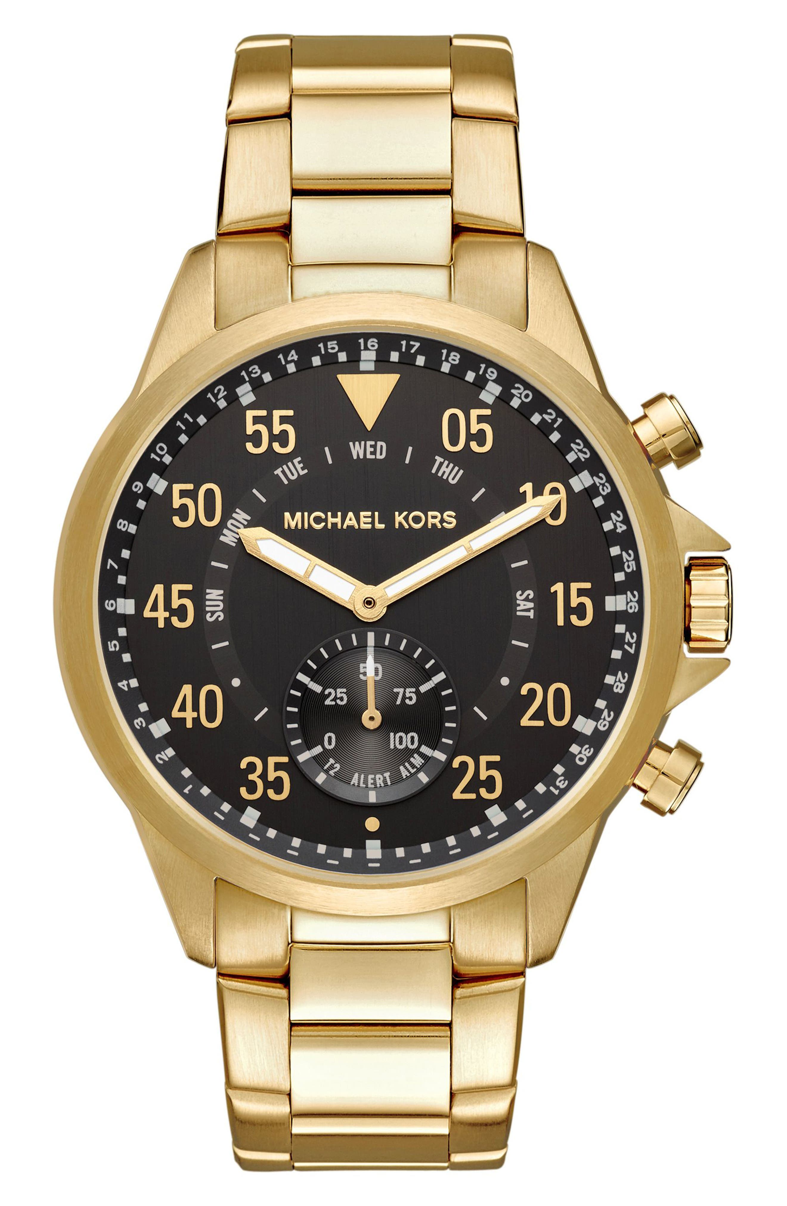 Main Image - Michael Kors Gage Bracelet Smart Watch, 45mm