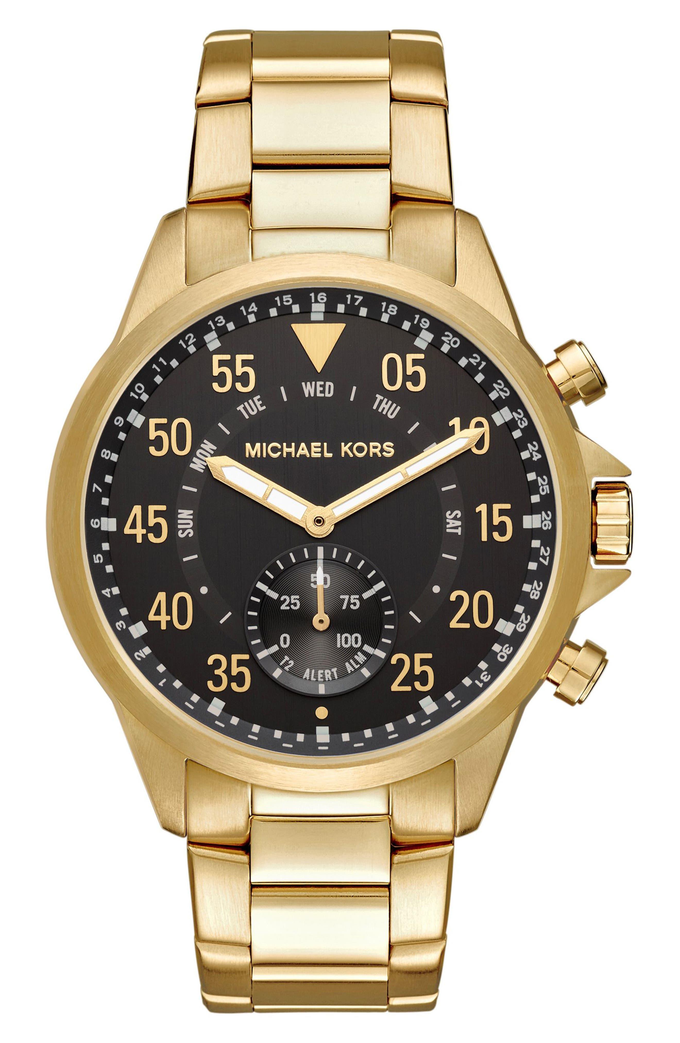 Michael Kors Gage Bracelet Smart Watch, 45mm