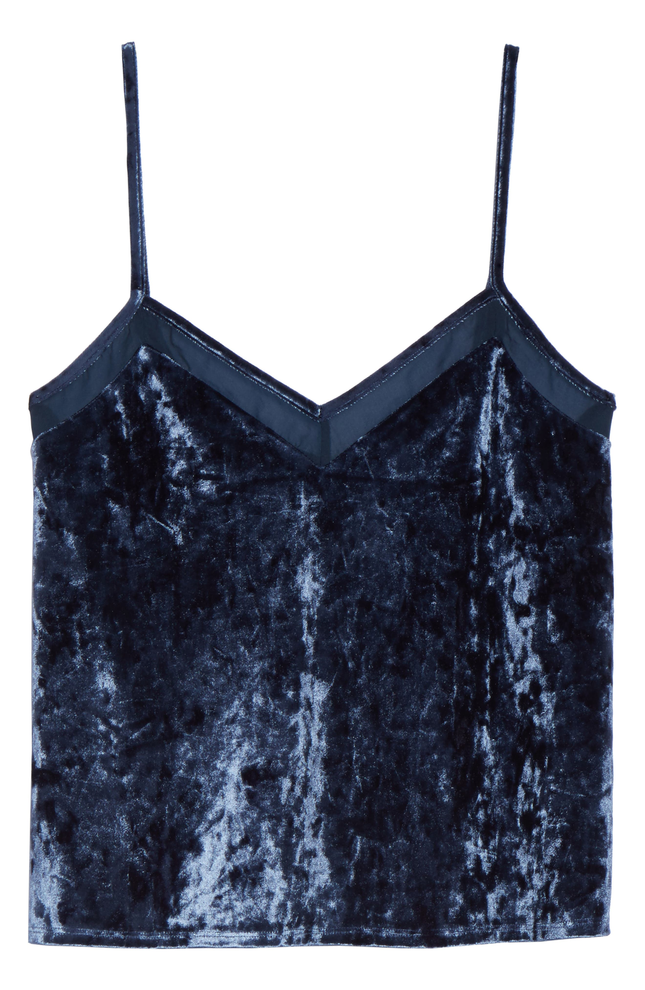Alternate Image 5  - Chelsea28 Starry Night Velvet Camisole