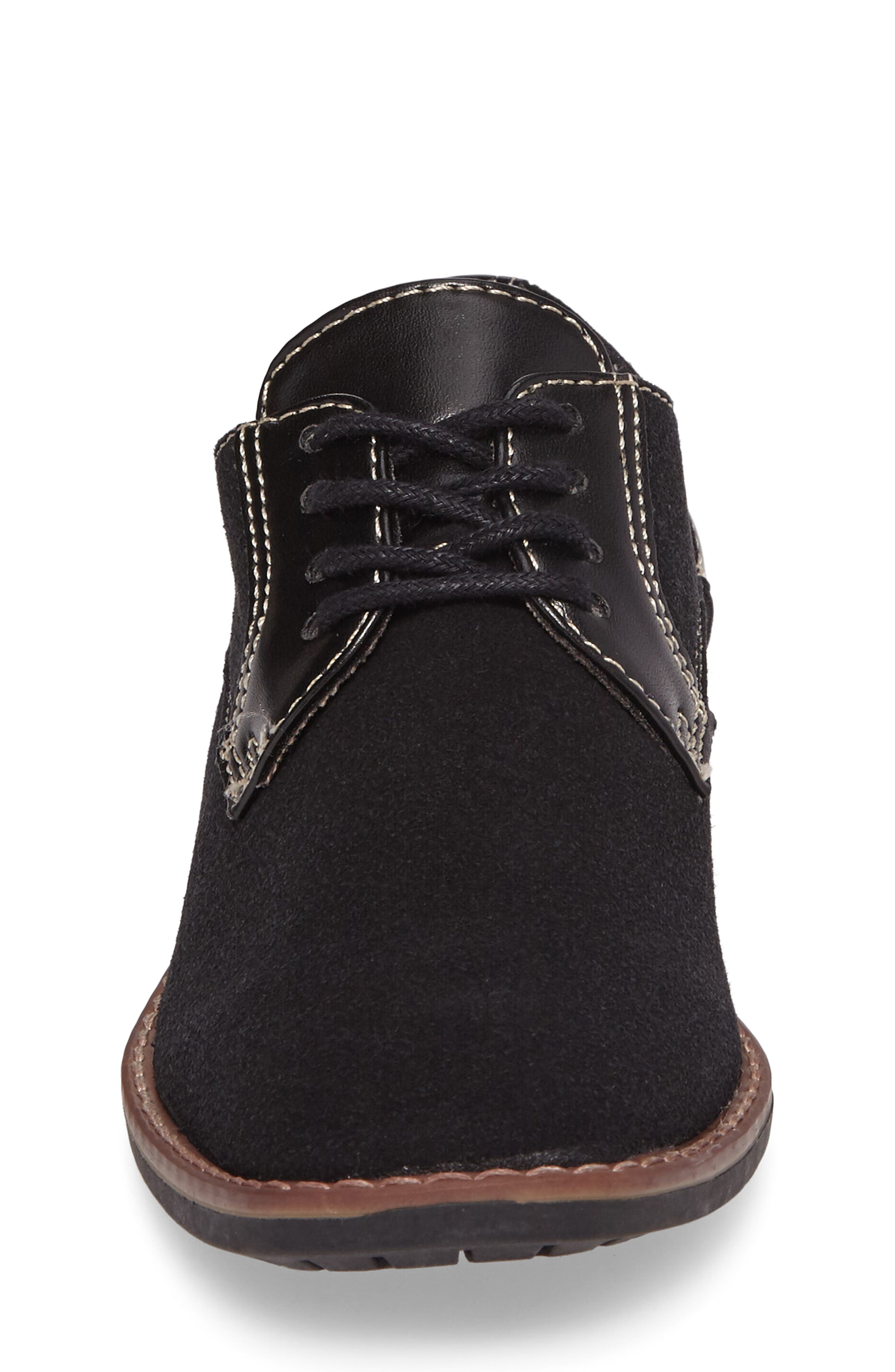 Alternate Image 4  - Steve Madden Fold Plain Toe Derby (Little Kid & Big Kid)