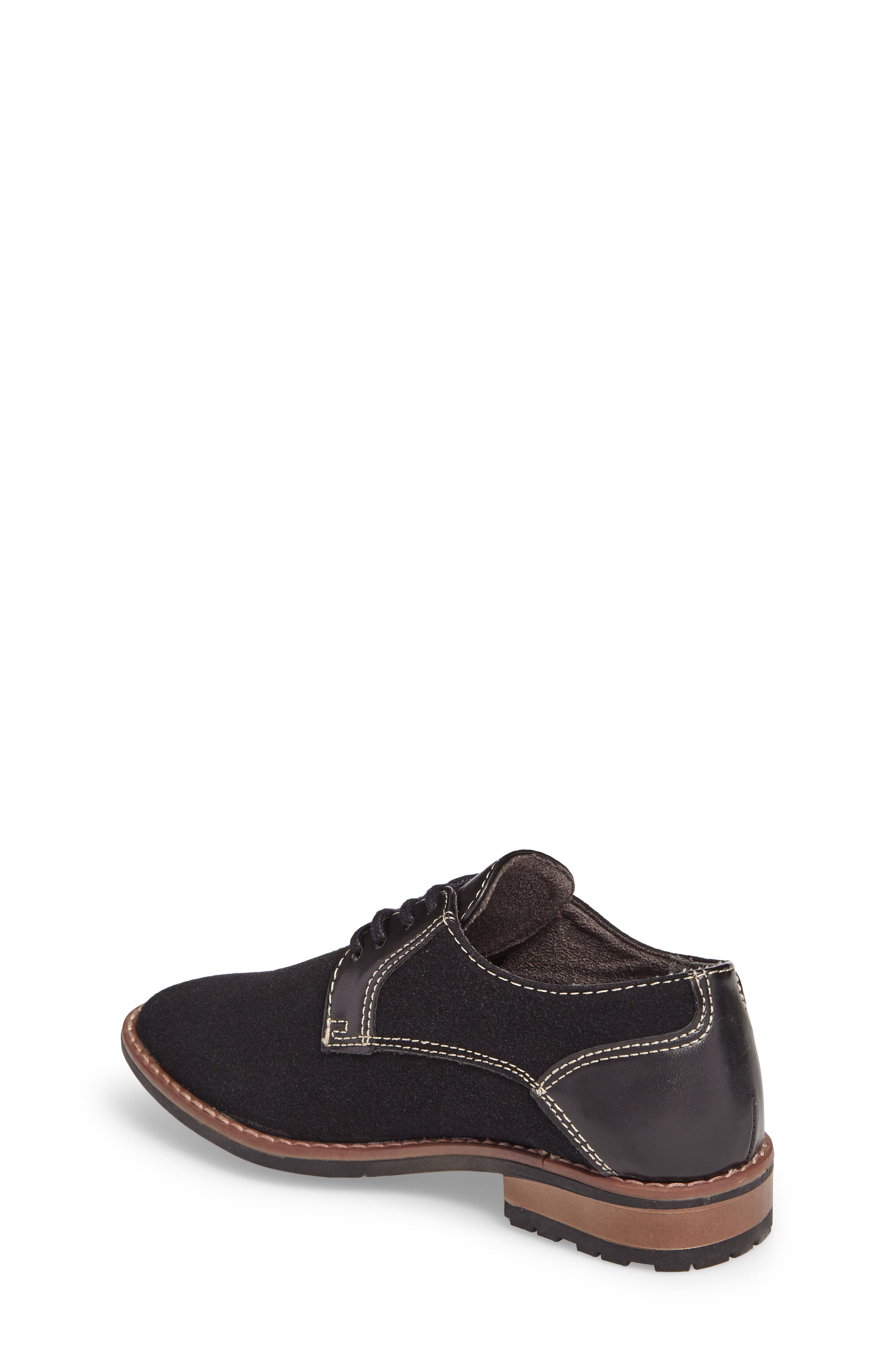 Alternate Image 2  - Steve Madden Fold Plain Toe Derby (Little Kid & Big Kid)