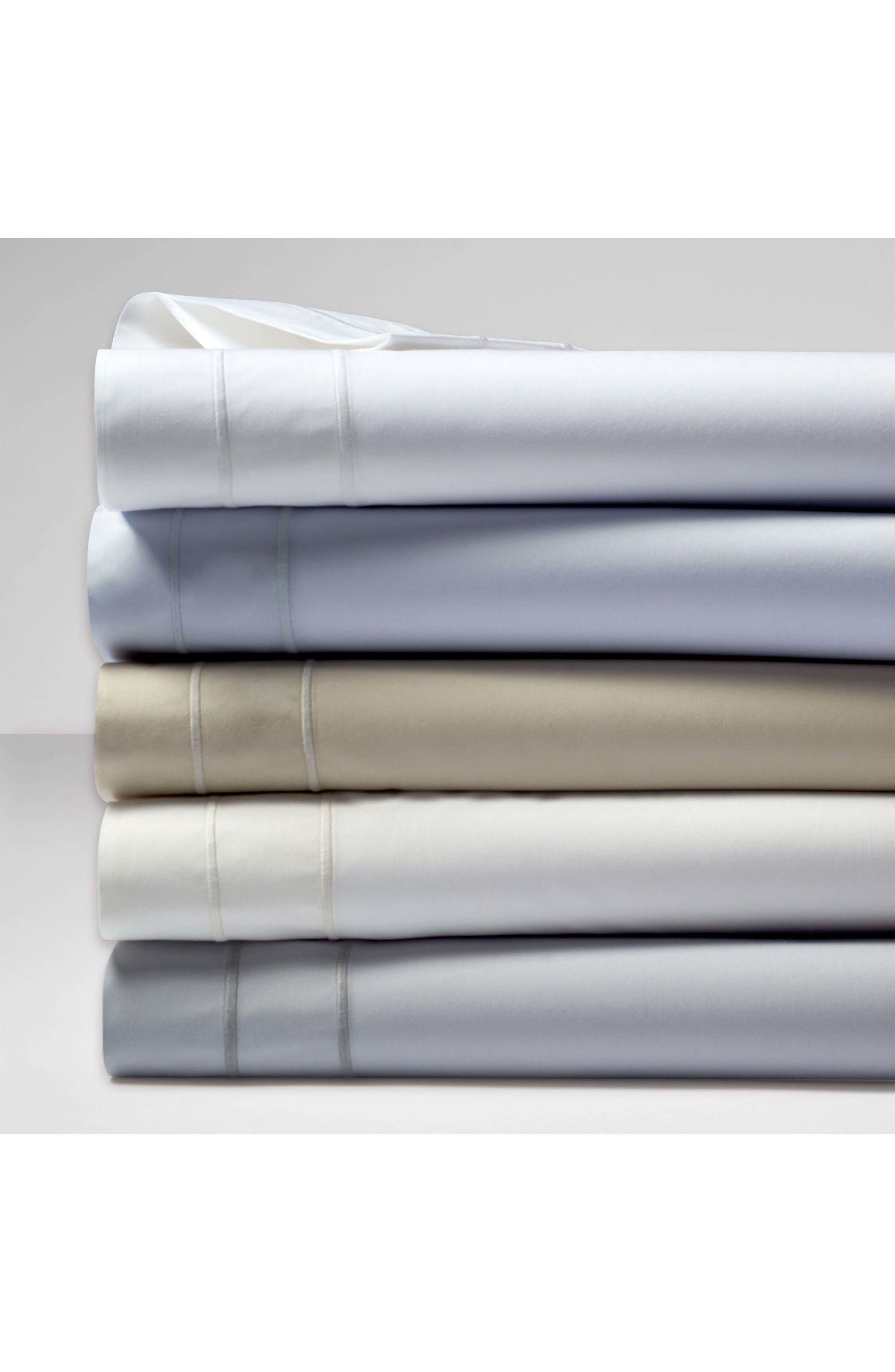 The Denizen Organic Cotton Pillowcases,                             Alternate thumbnail 2, color,                             Smoke