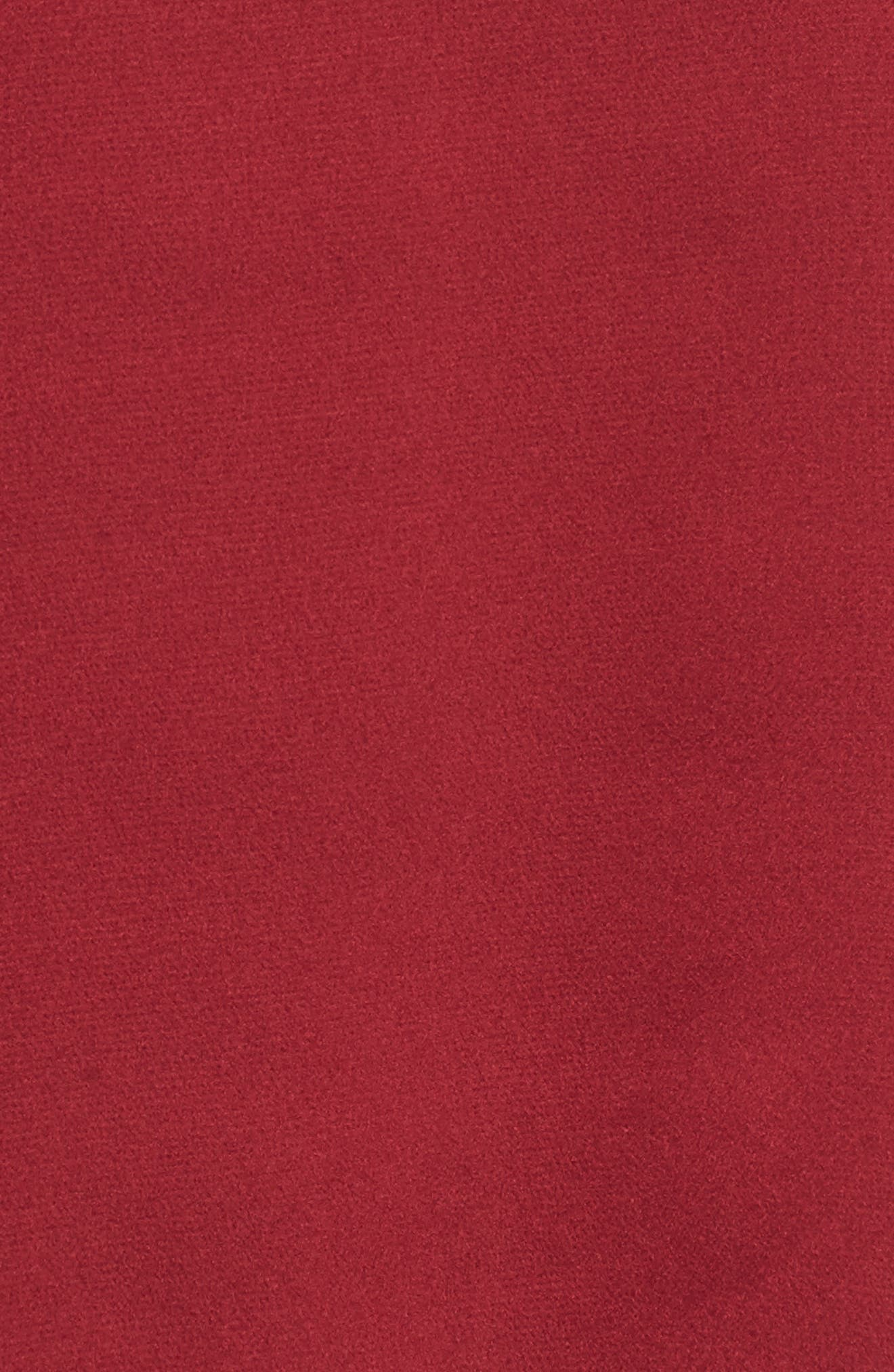 Alternate Image 5  - Bobeau Bubble Sleeve Satin Top