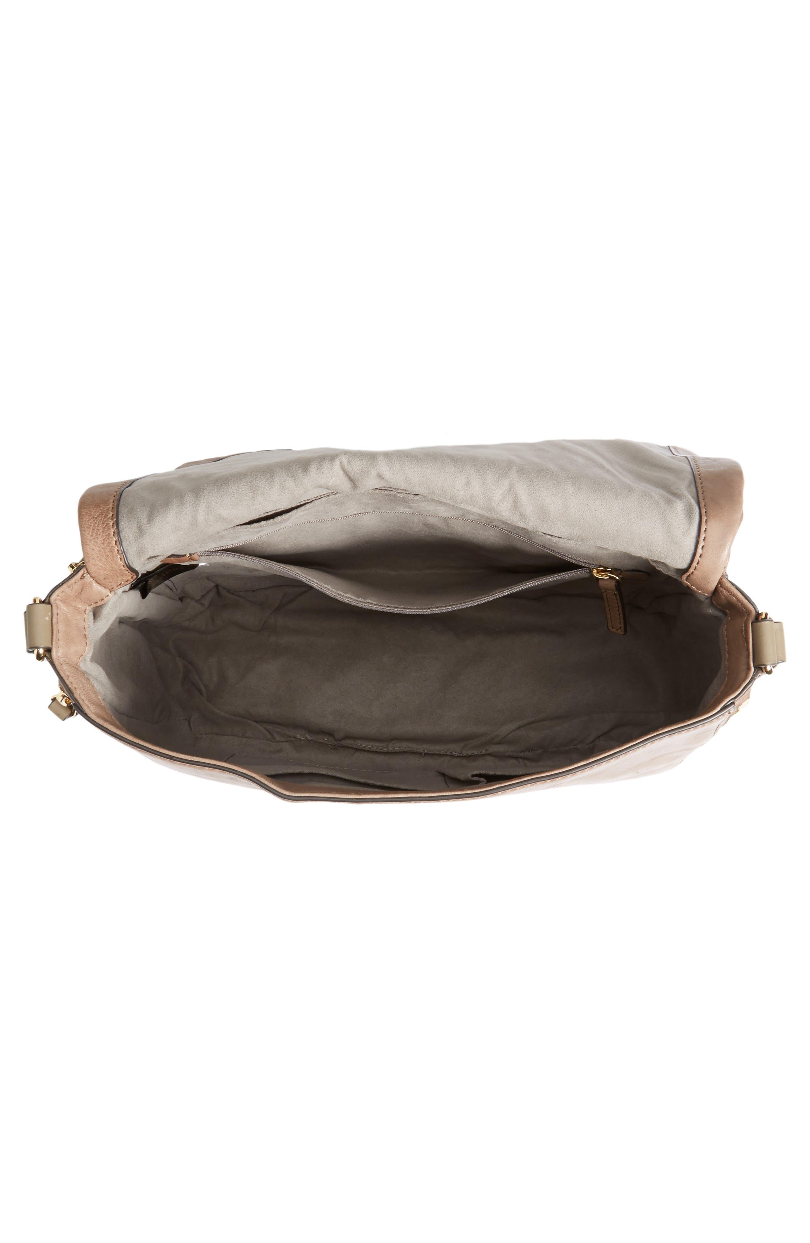 Alternate Image 3  - Vince Camuto Delos Leather Messenger Bag (Nordstrom Exclusive)