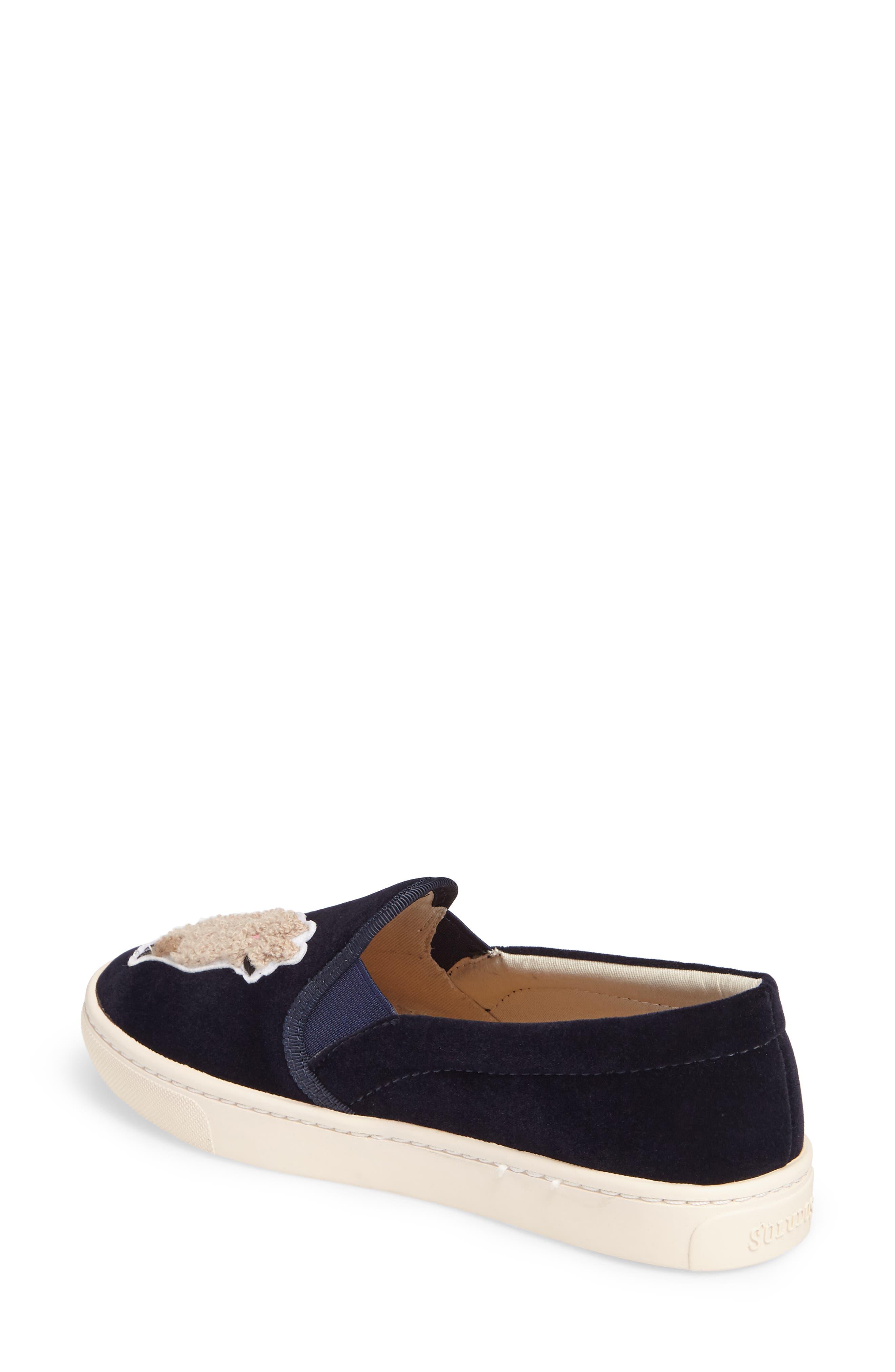 Alternate Image 2  - Soludos Velvet Sneaker (Women)
