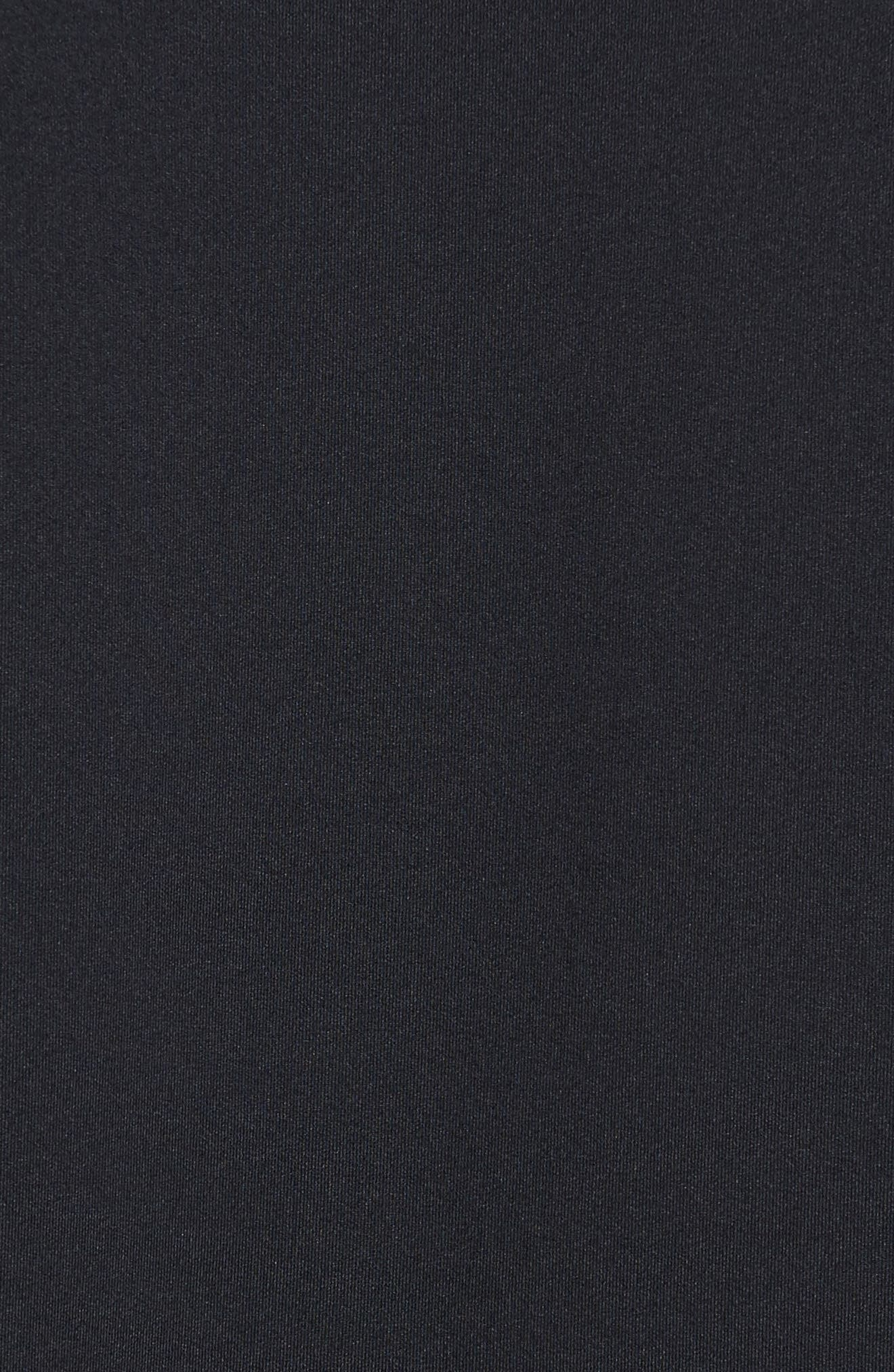 Sportstyle Track Jacket,                             Alternate thumbnail 5, color,                             Black / / Black