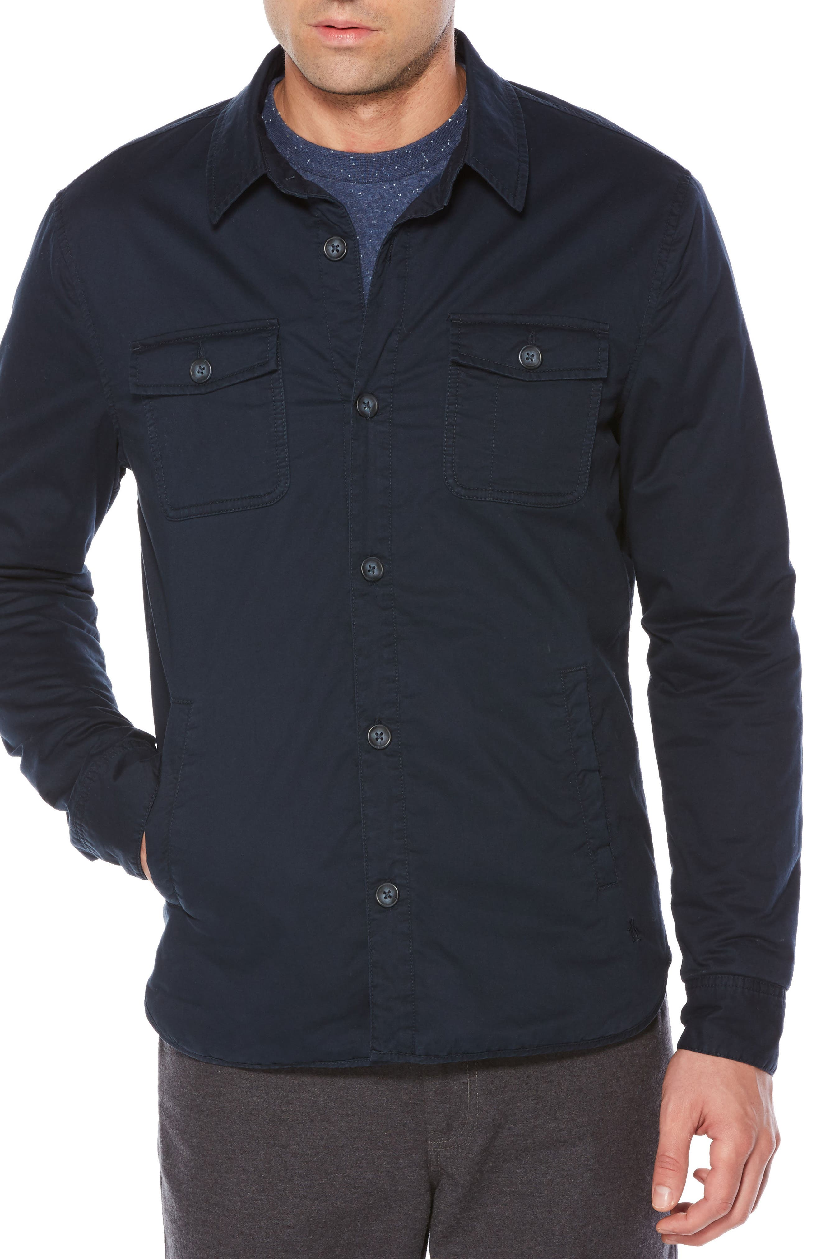 Original Penguin Stretch Four-Pocket Jacket