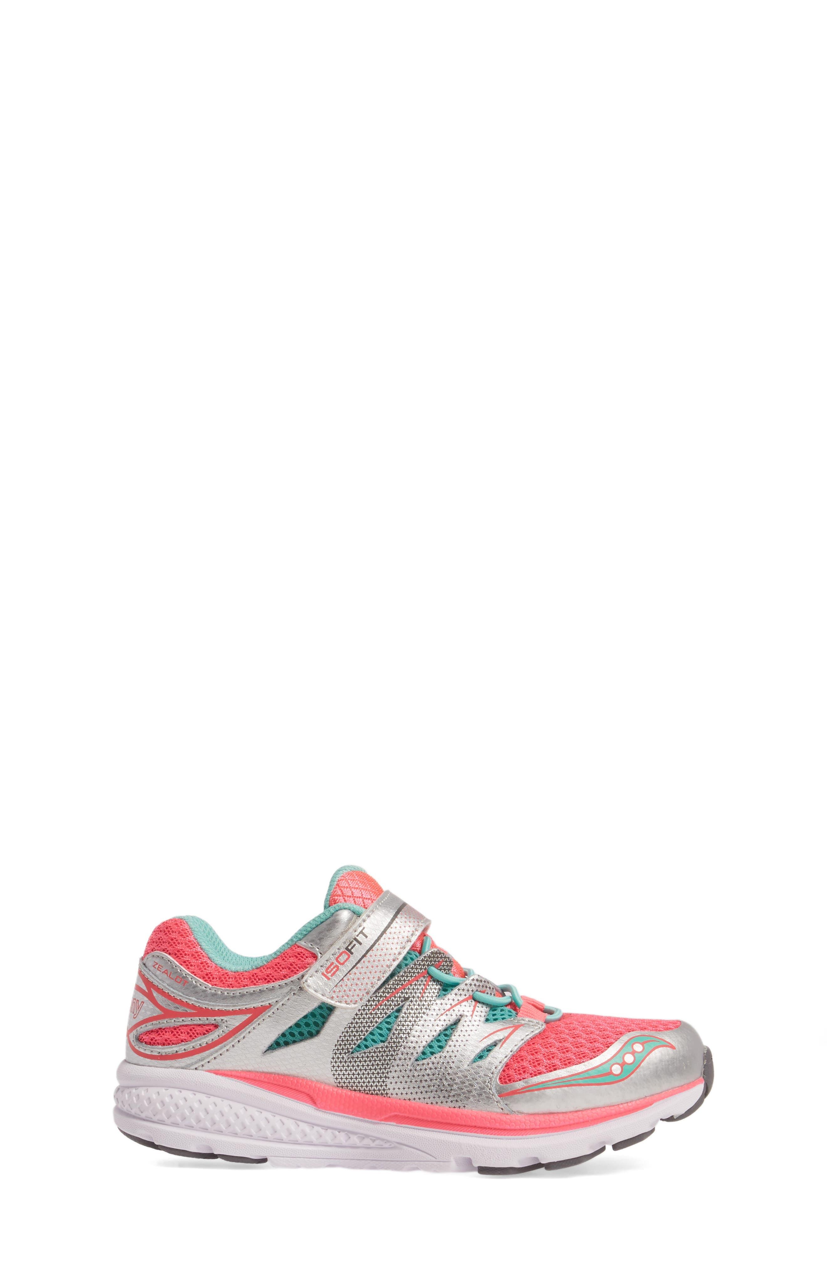 Alternate Image 3  - Saucony Zealot 2 A/C Sneaker (Toddler & Little Kid)