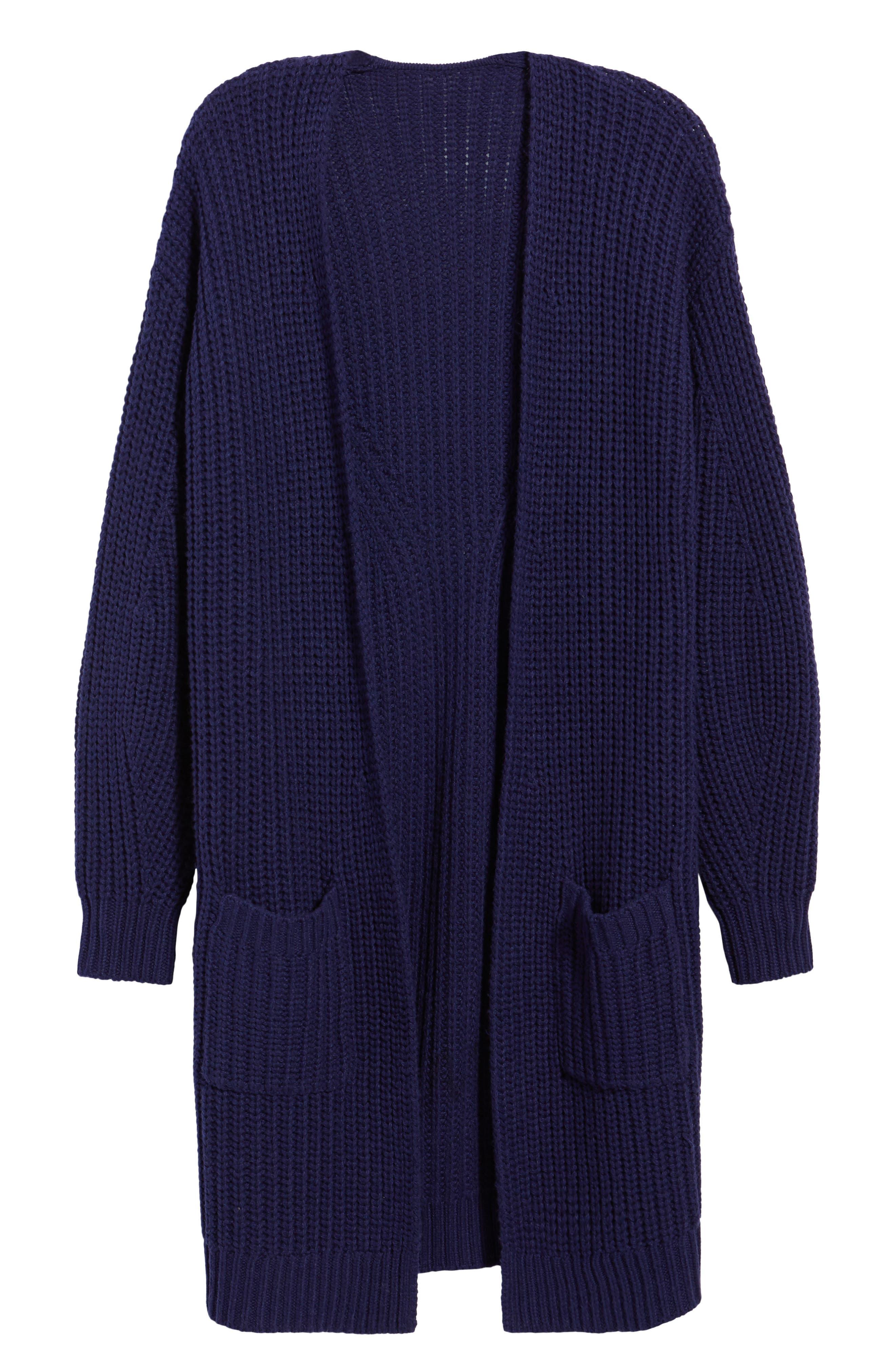 Alternate Image 6  - BP. Shaped Sleeve Longline Cardigan