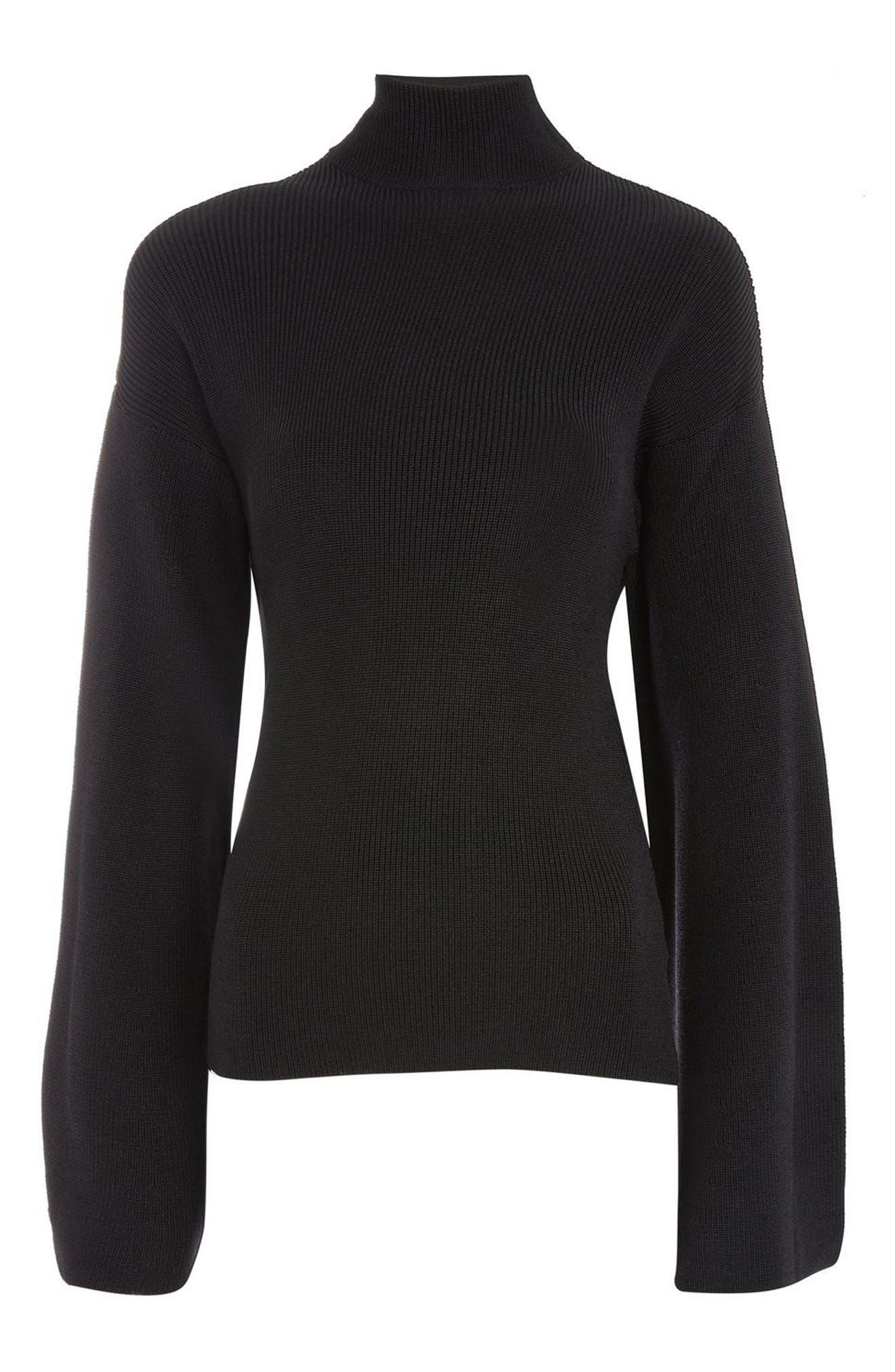 Topshop Boutique Twist Back Sweater
