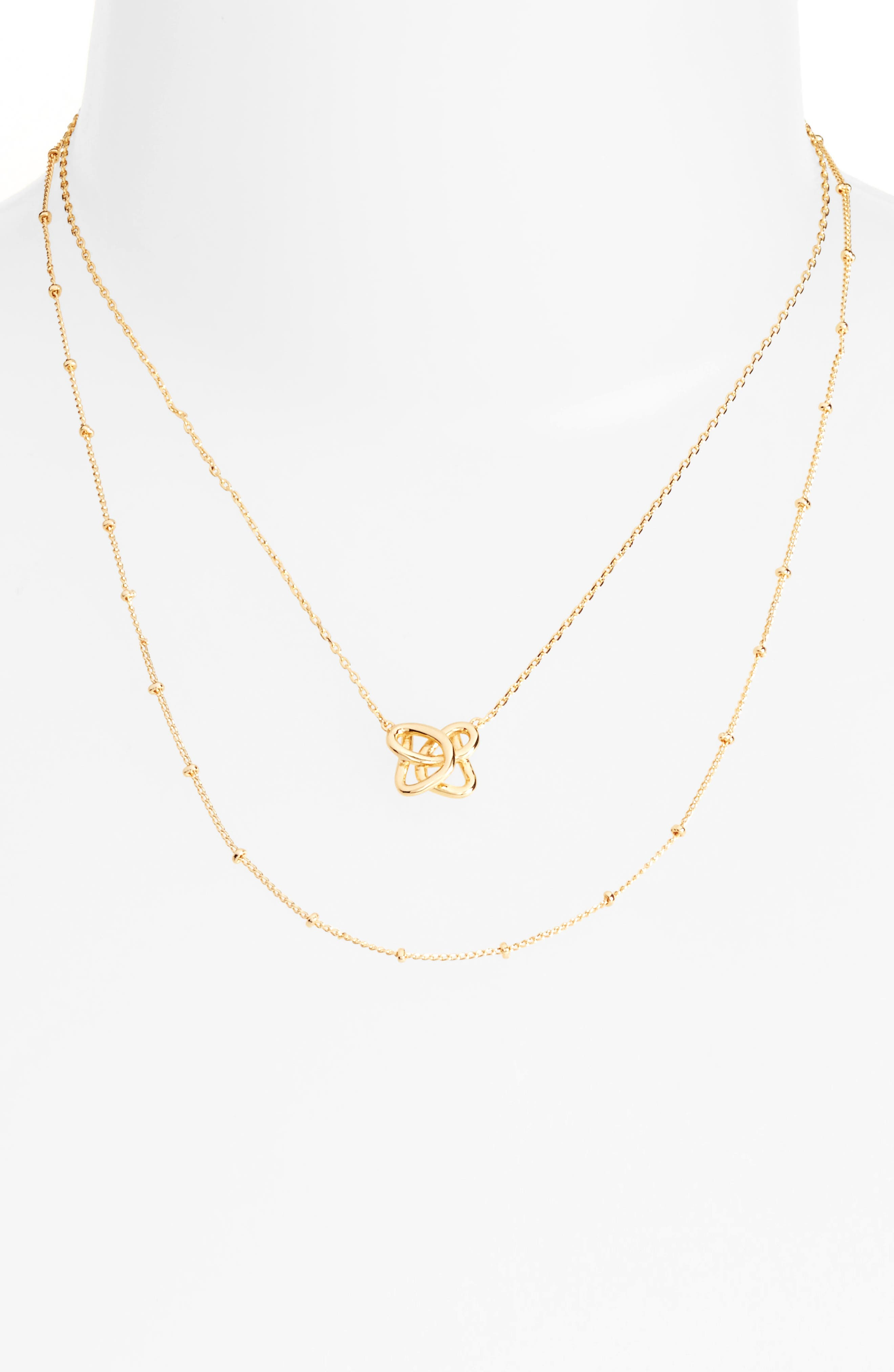 Jules Smith Curly Knot Necklace