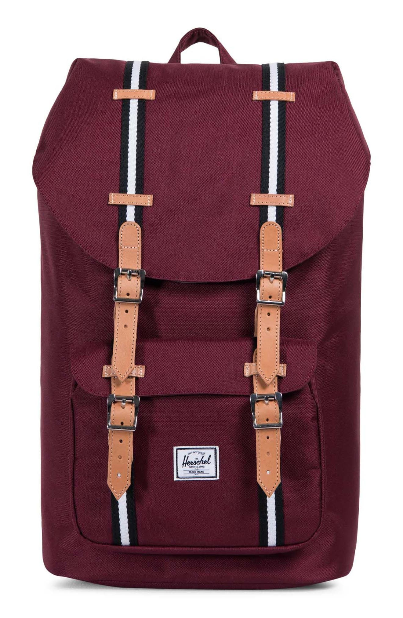 Herschel Supply Co. Little America Offset Stripe Backpack
