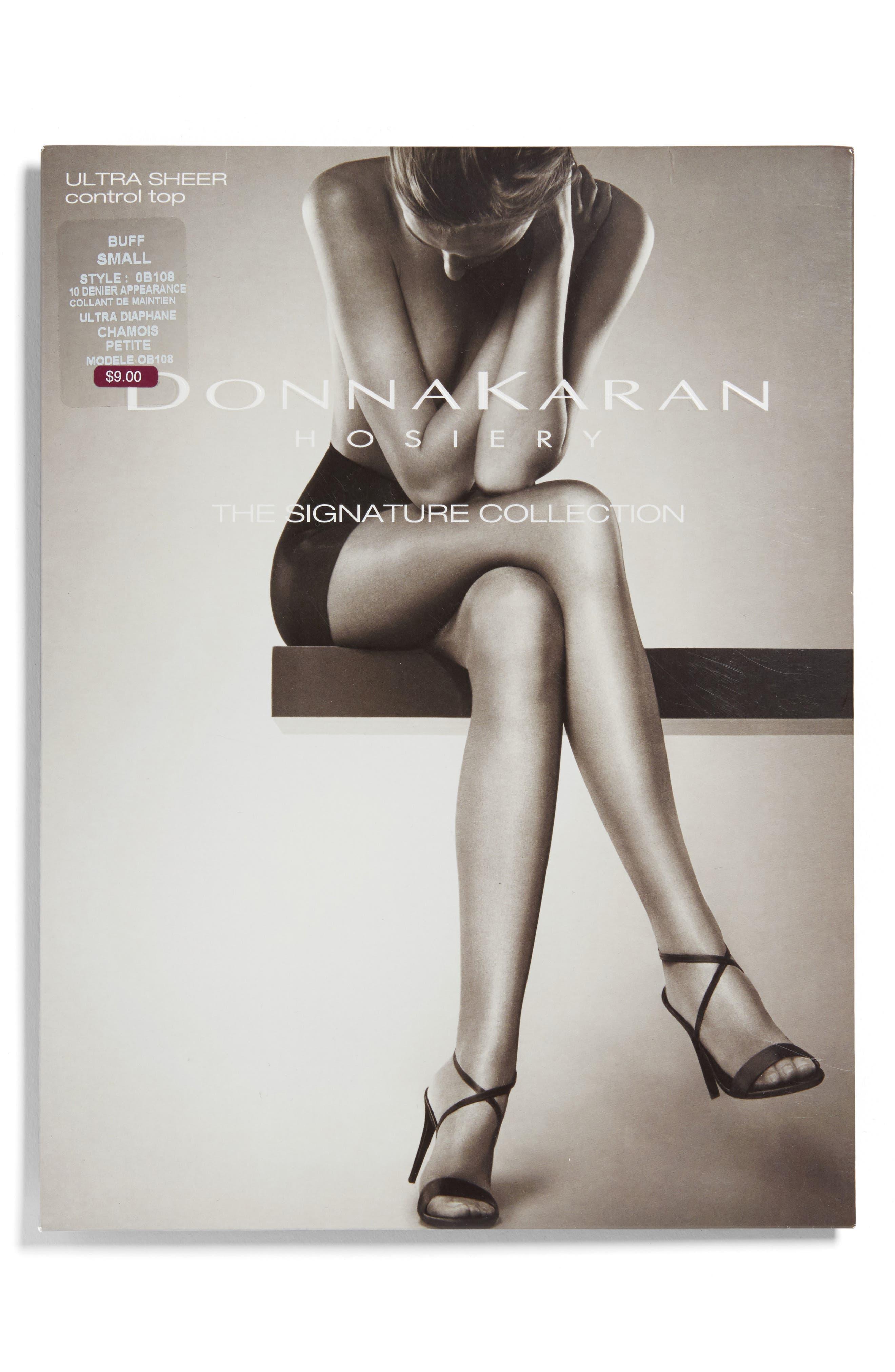 Alternate Image 2  - Donna Karan Signature Ultra Sheer Control Top Pantyhose
