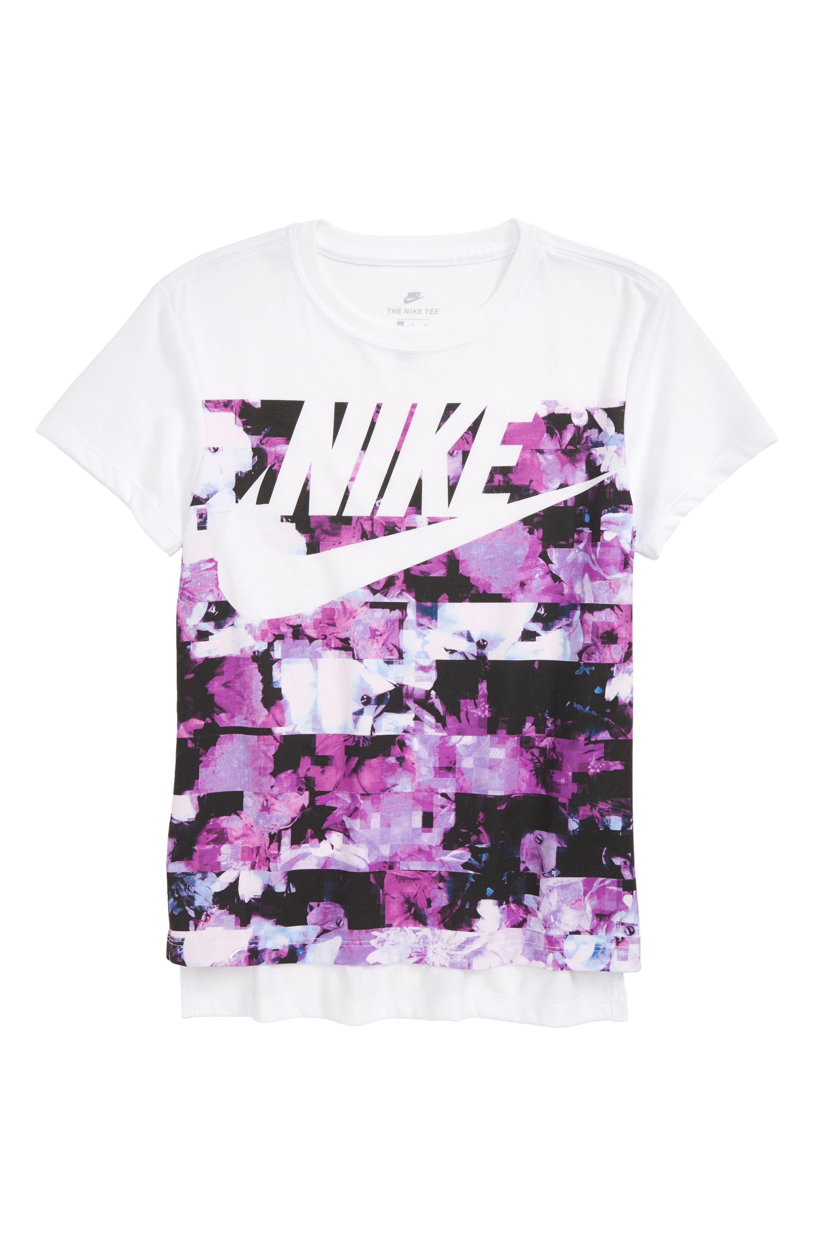 Nike Hyperfade Graphic Tee (Big Girls)