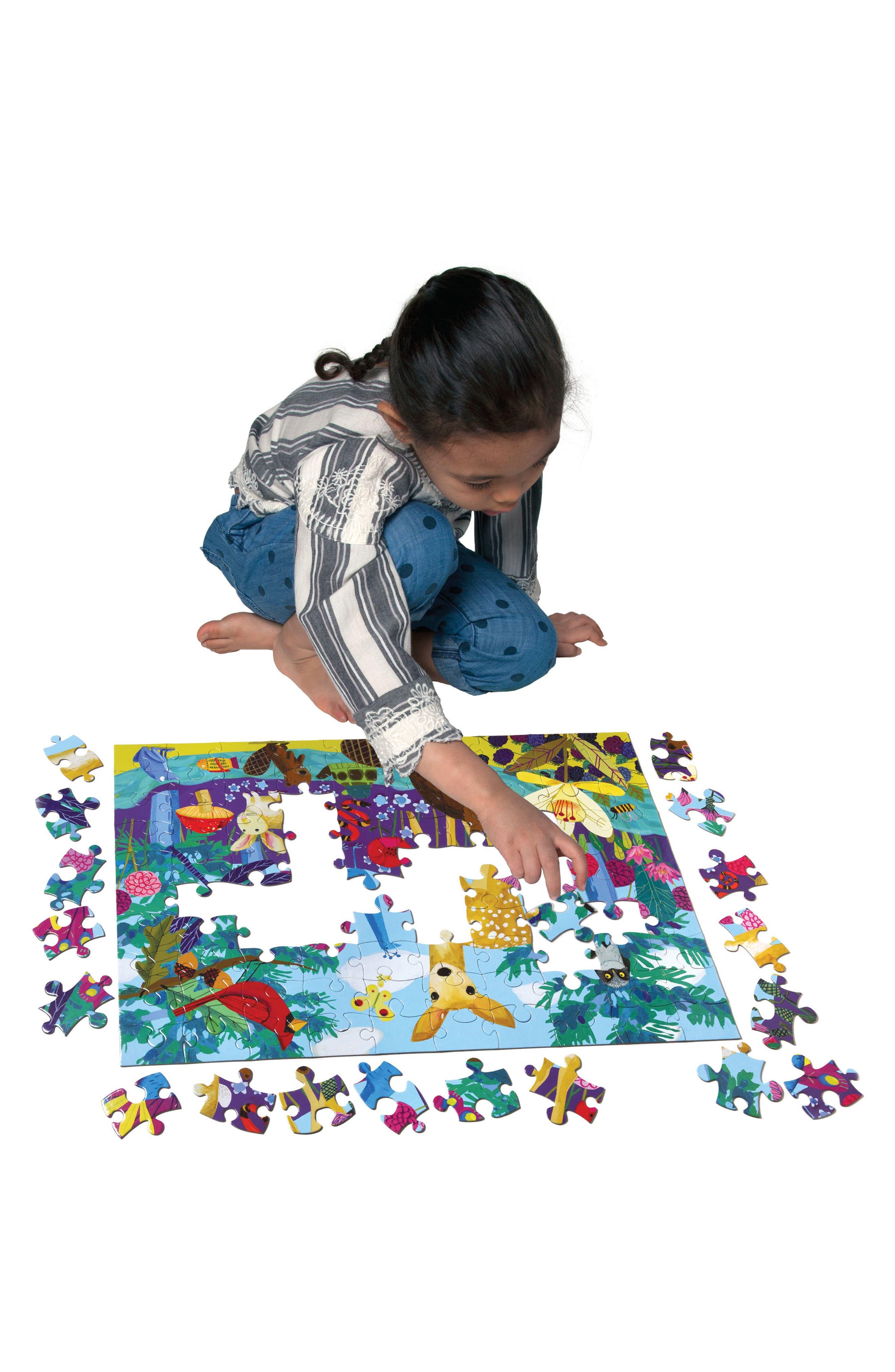 Alternate Image 2  - eeBoo Life on Earth 100-Piece Puzzle
