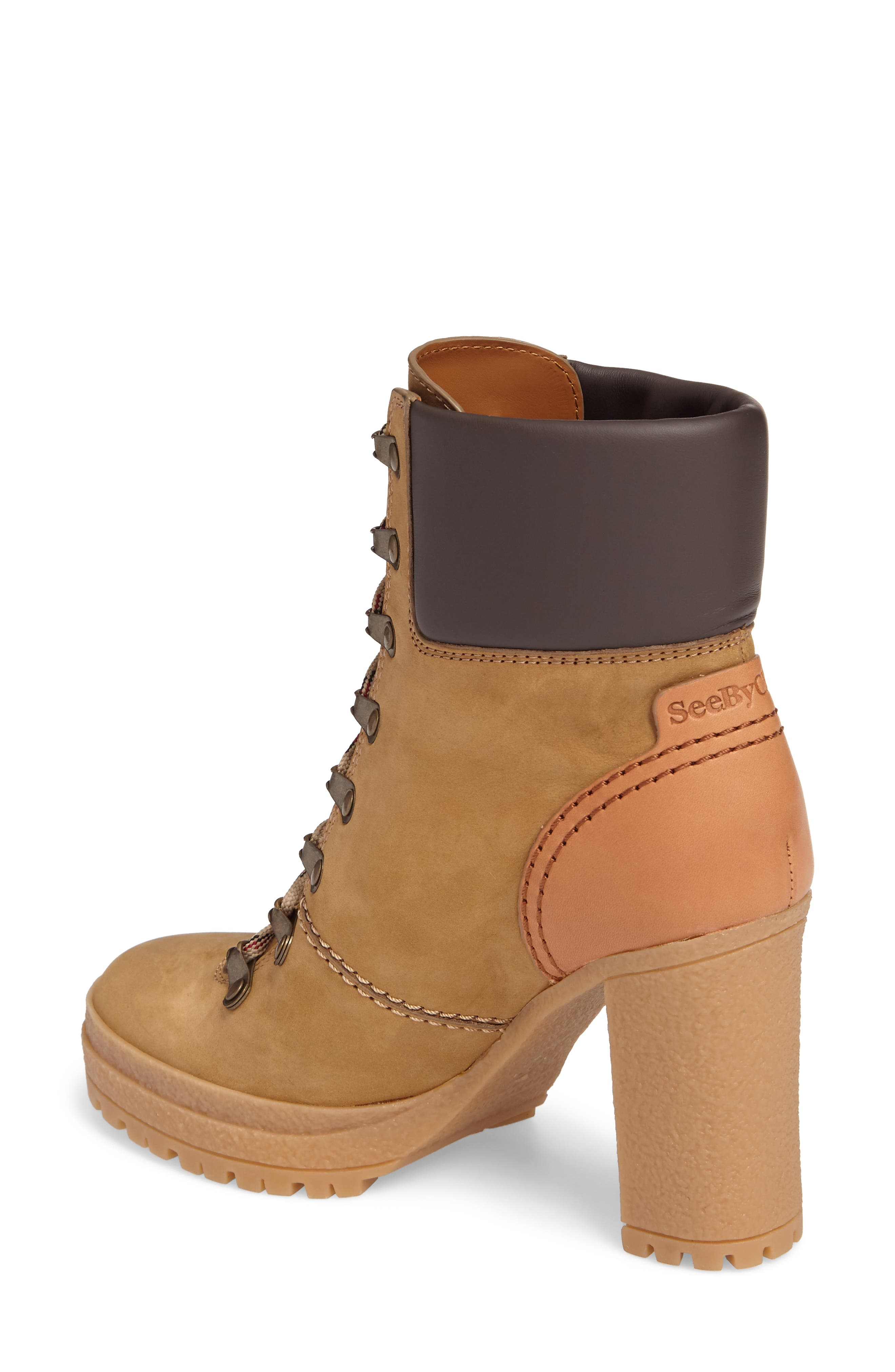 Eileen Platform Boot,                             Alternate thumbnail 2, color,                             Taupe