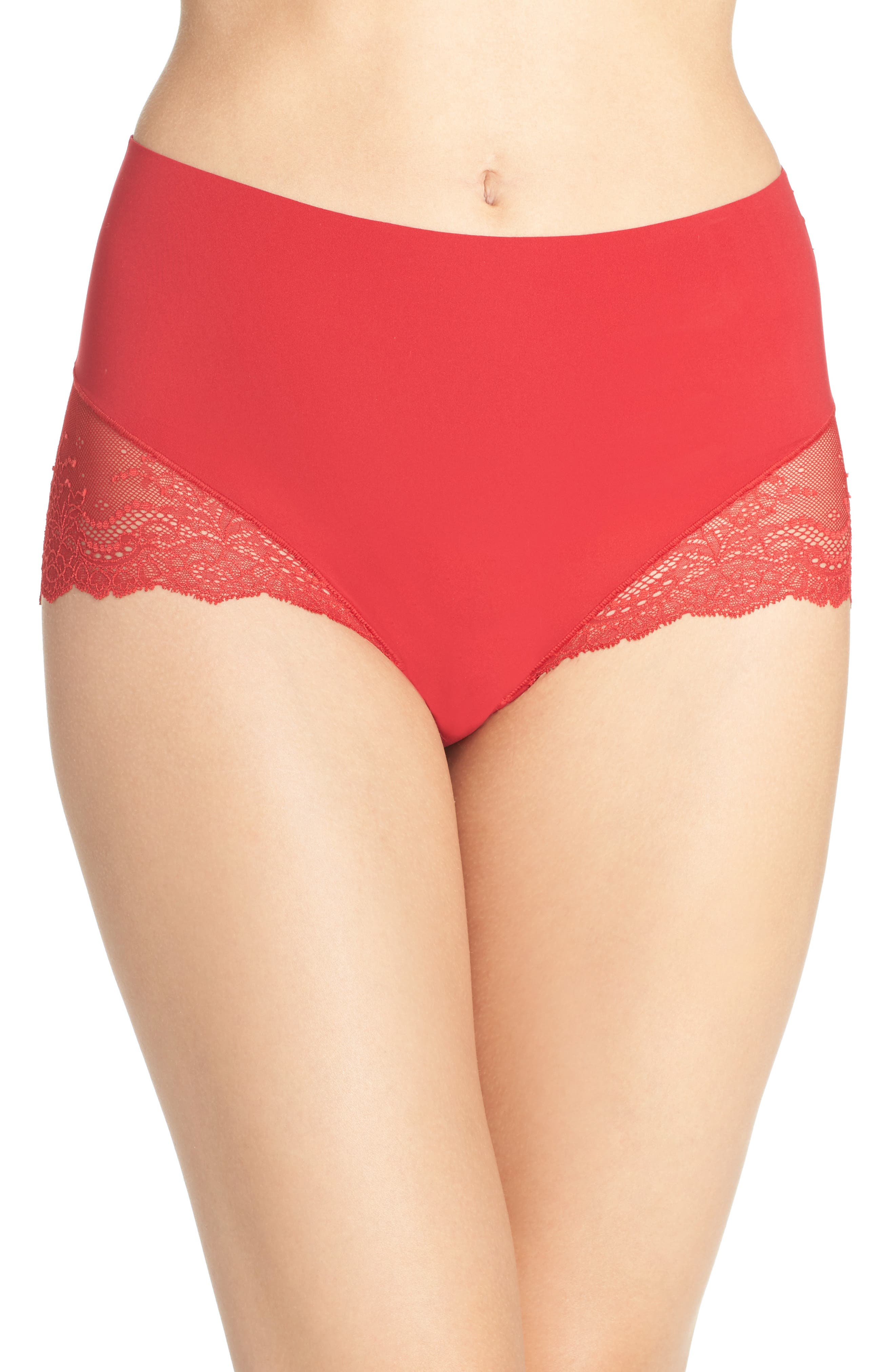 Alternate Image 1 Selected - SPANX® Undie-tectable Lace Hipster Panties