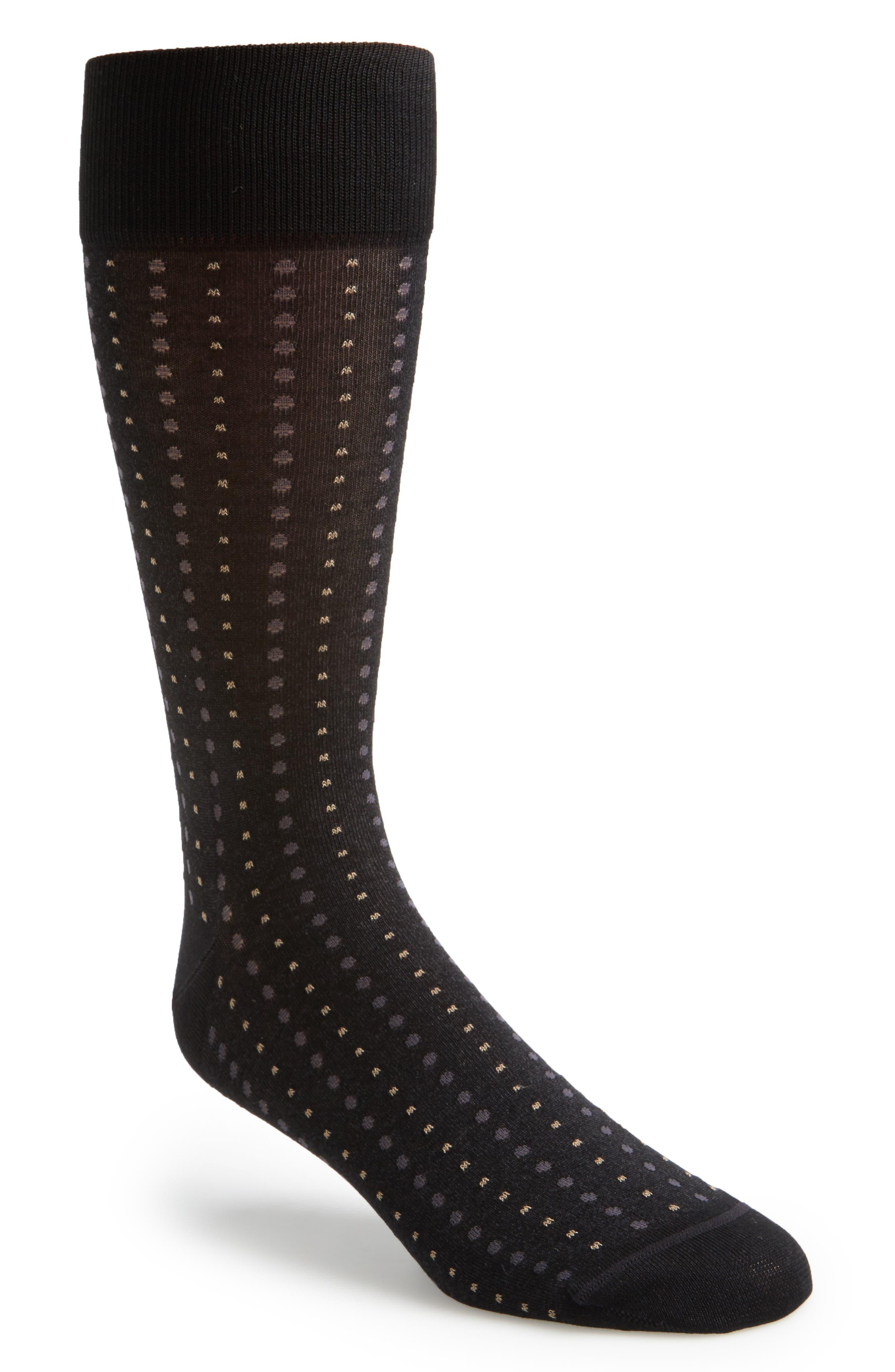 Alternate Image 1 Selected - John W. Nordstrom® Mini Dot Socks