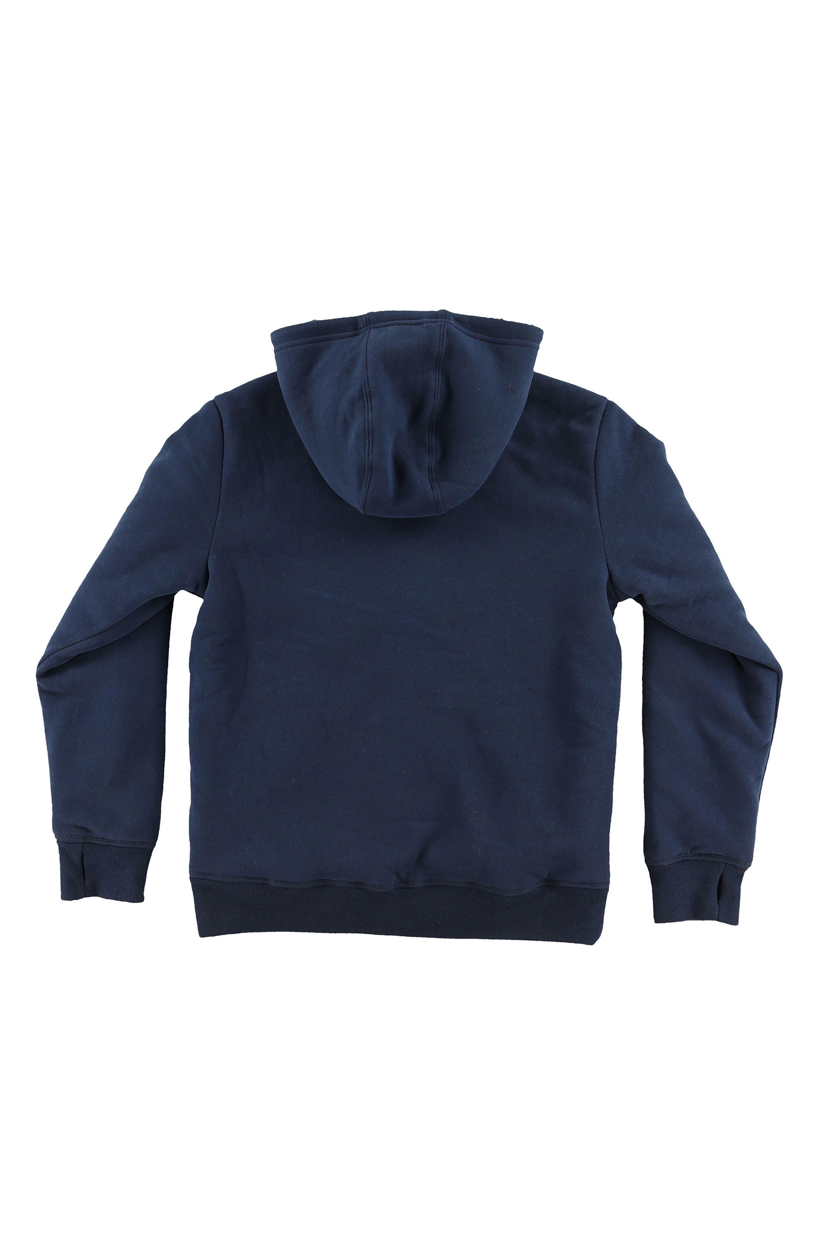 Alternate Image 2  - O'Neill Staple Plush Lined Pullover Hoodie (Big Boys)