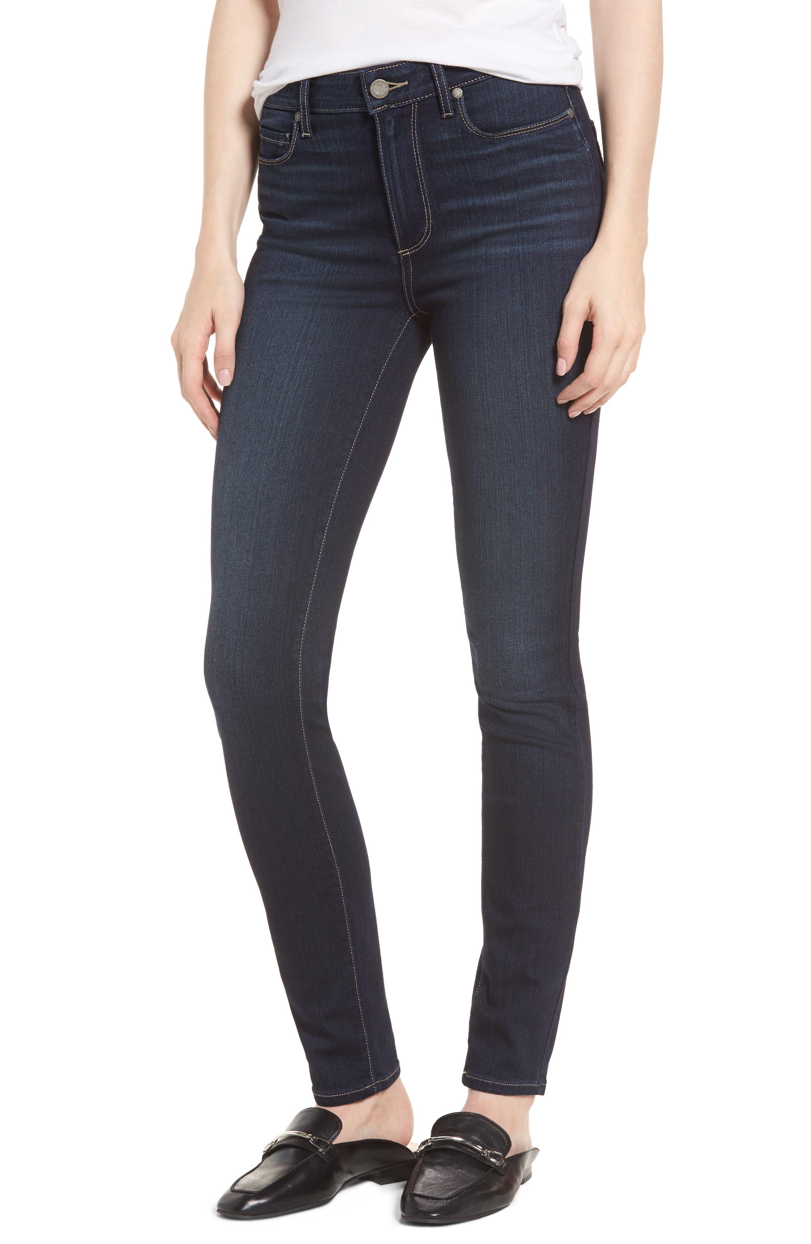 PAIGE Transcend Vintage - Hoxton High Waist Ultra Skinny Jeans (Gardena)