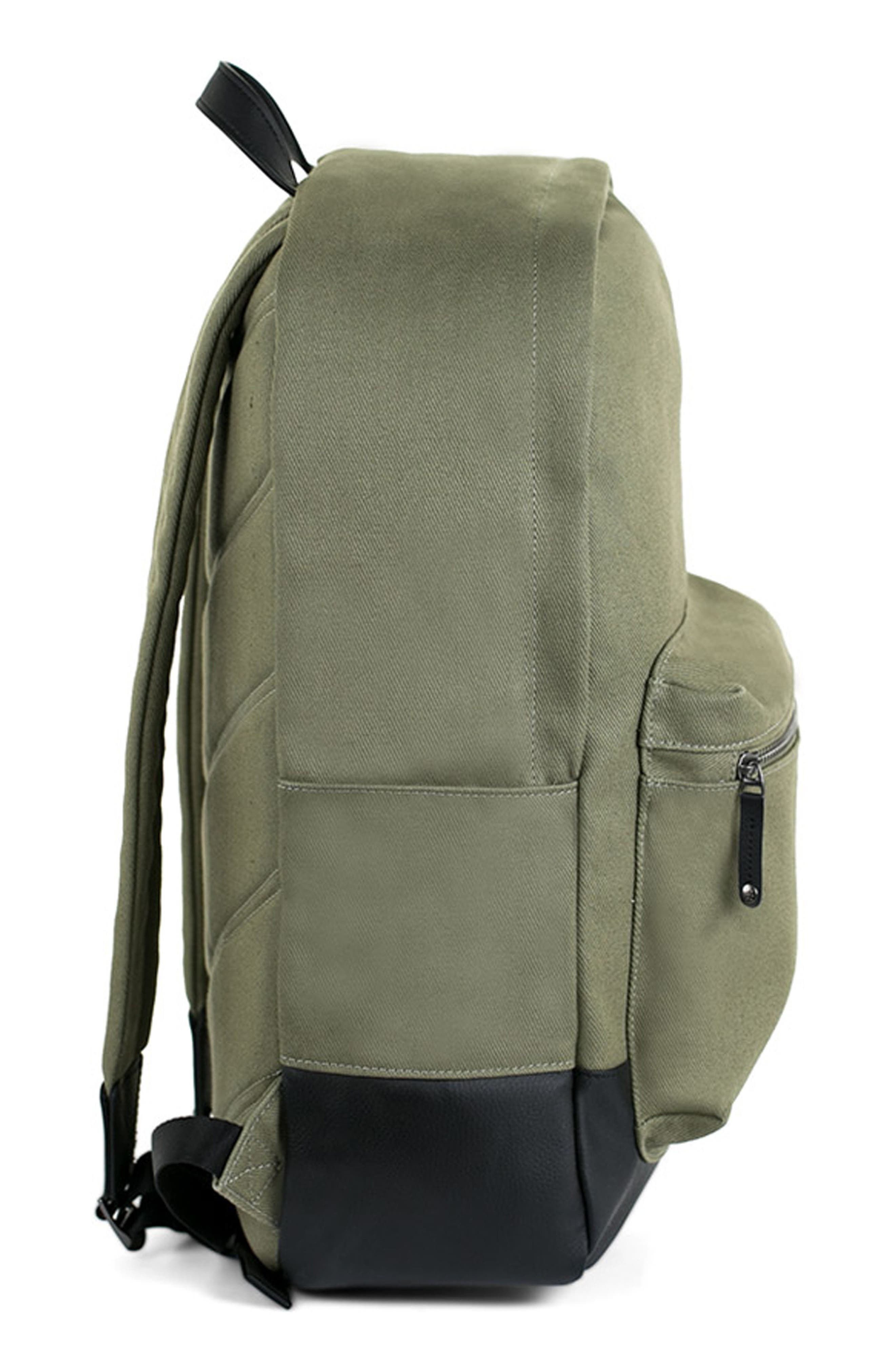 Refined Backpack,                             Alternate thumbnail 3, color,                             Olive