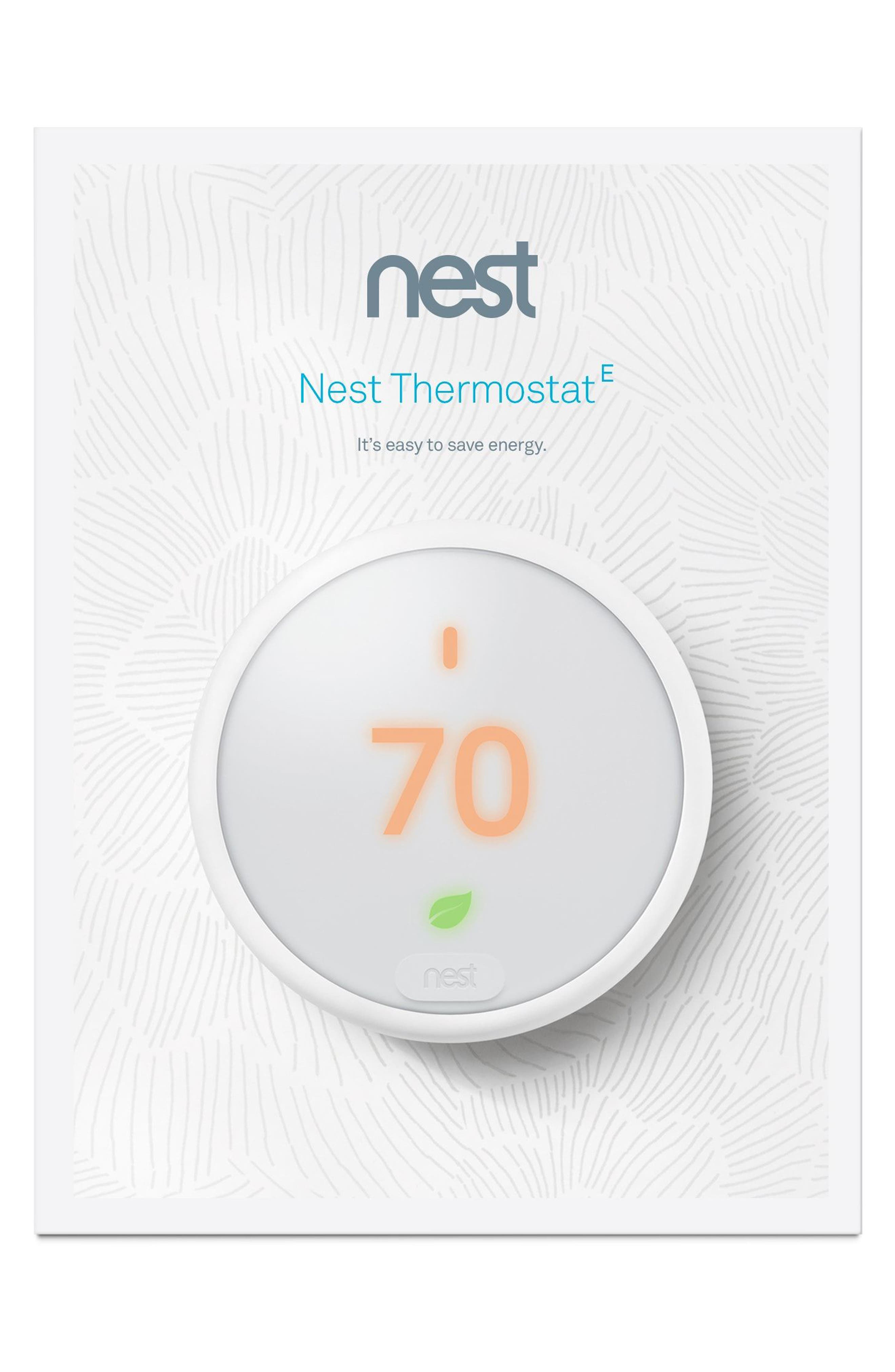 Thermostat E,                             Alternate thumbnail 8, color,                             White