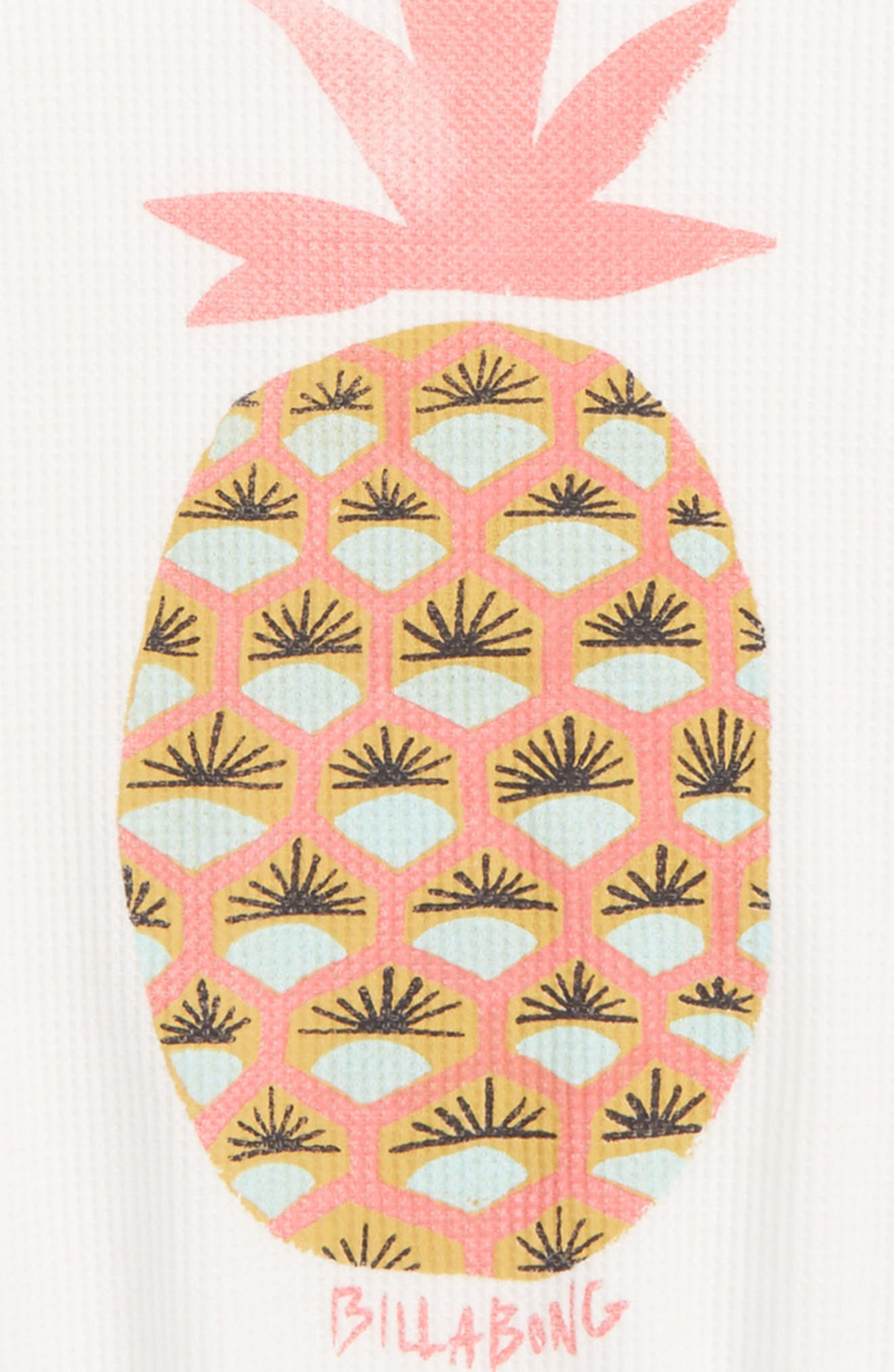 Fresh Pineapple Graphic Tee,                             Alternate thumbnail 2, color,                             Cool Whip