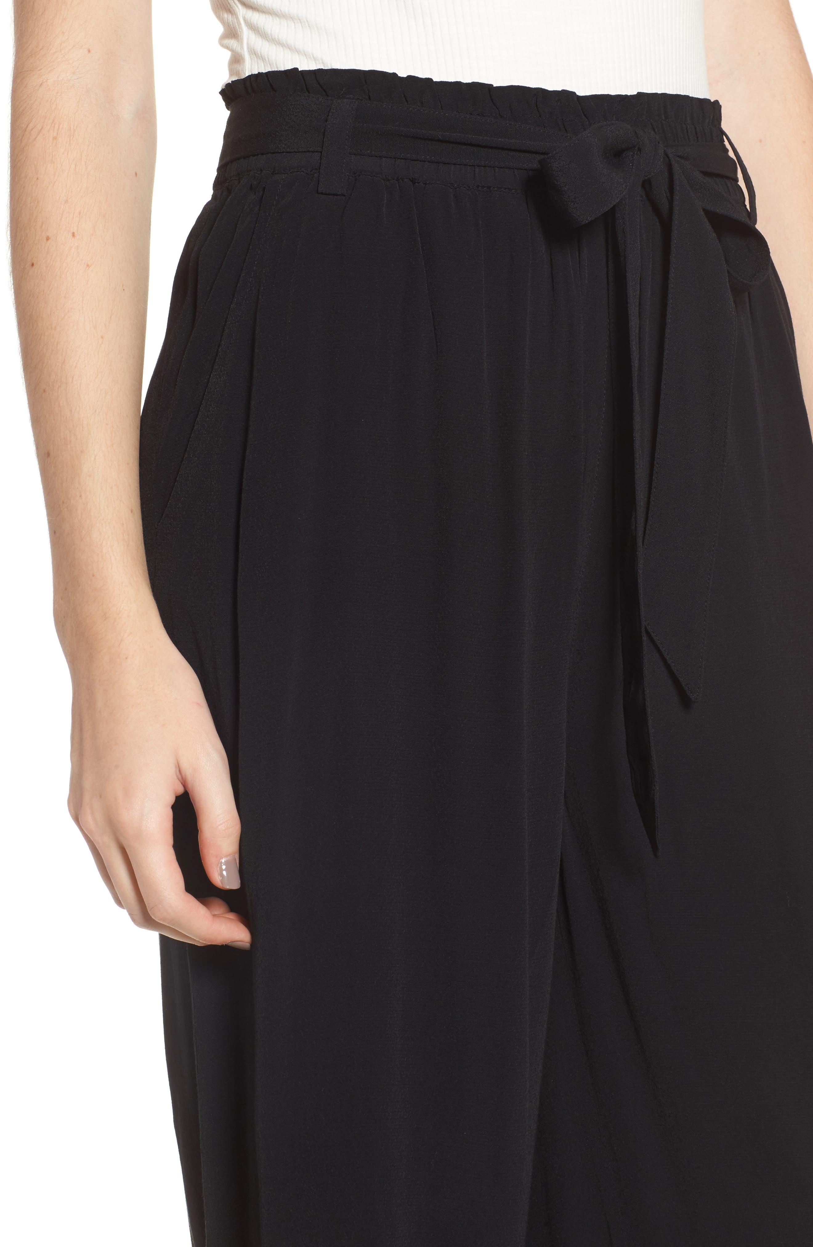 Alternate Image 4  - BP. Tie Waist Crop Pants
