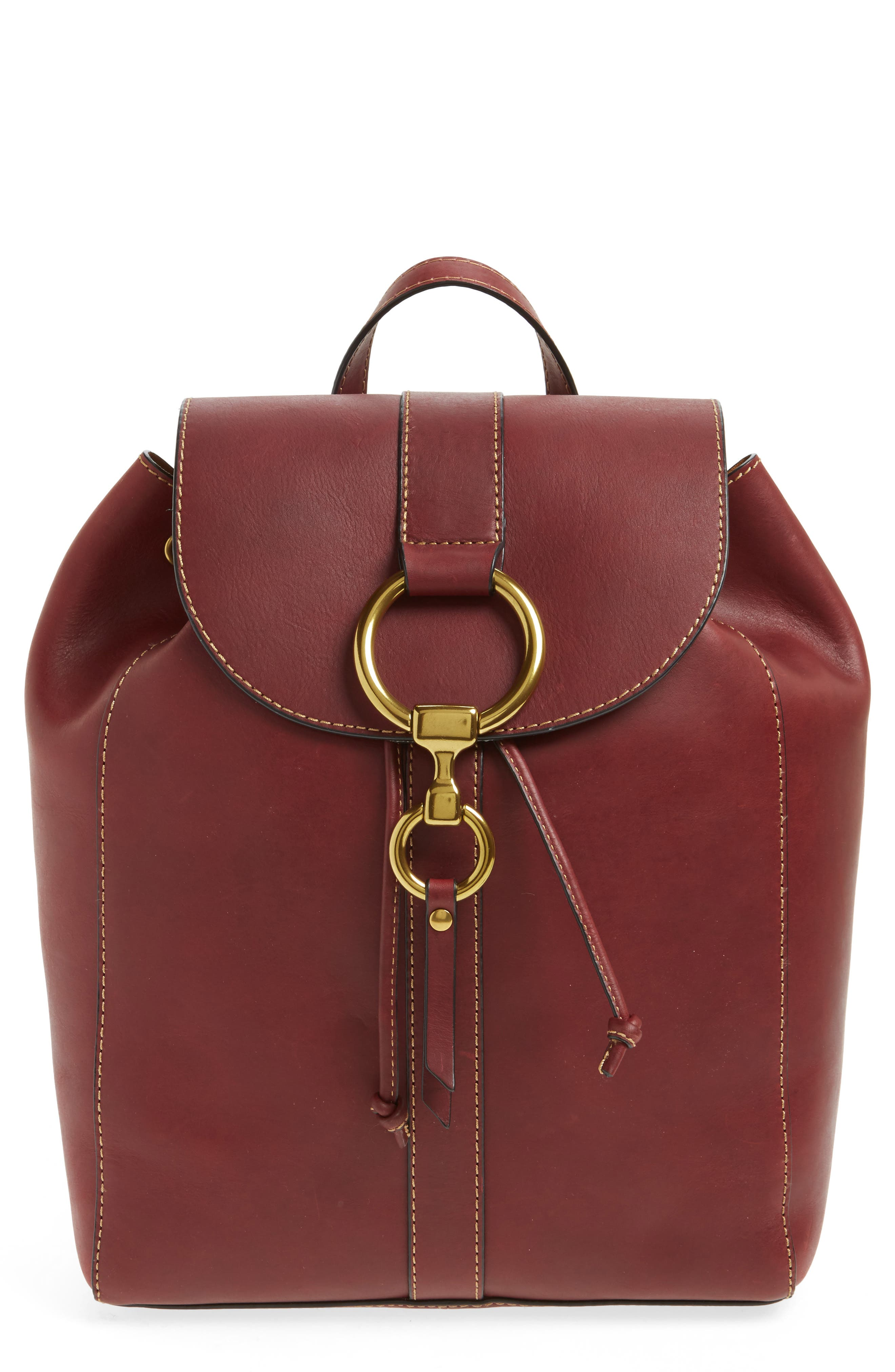 Main Image - Frye Ilana Harness Leather Backpack