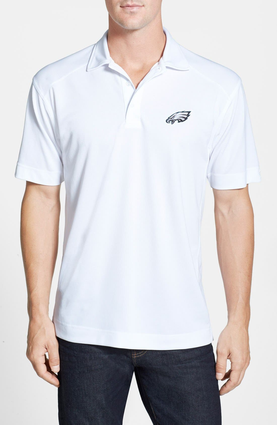 Alternate Image 1 Selected - Cutter & Buck Philadelphia Eagles - Genre DryTec Moisture Wicking Polo