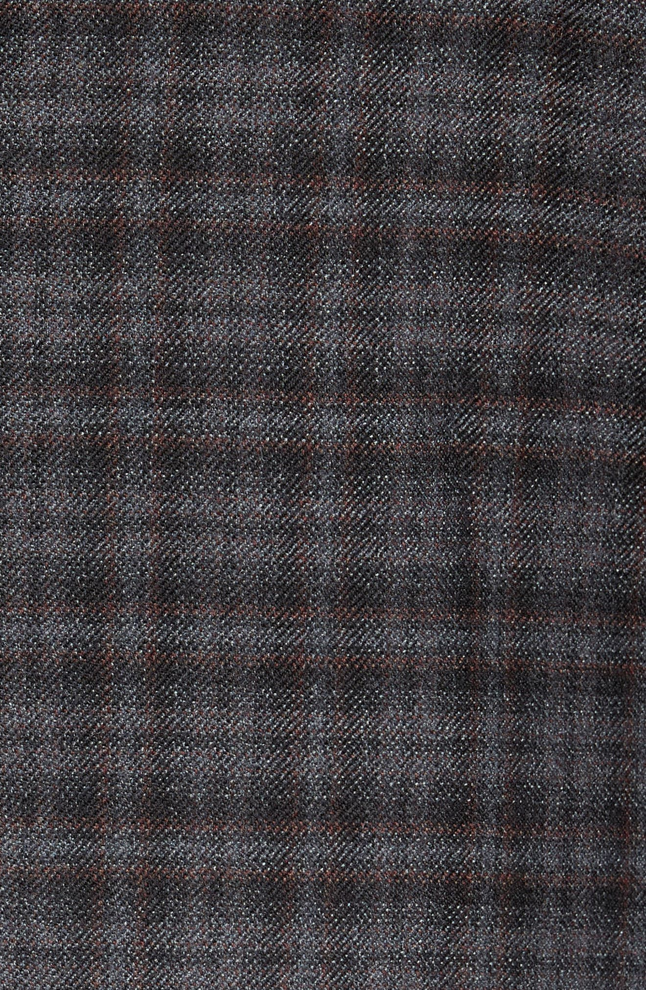 Alternate Image 5  - Peter Millar Classic Fit Plaid Wool Sport Coat