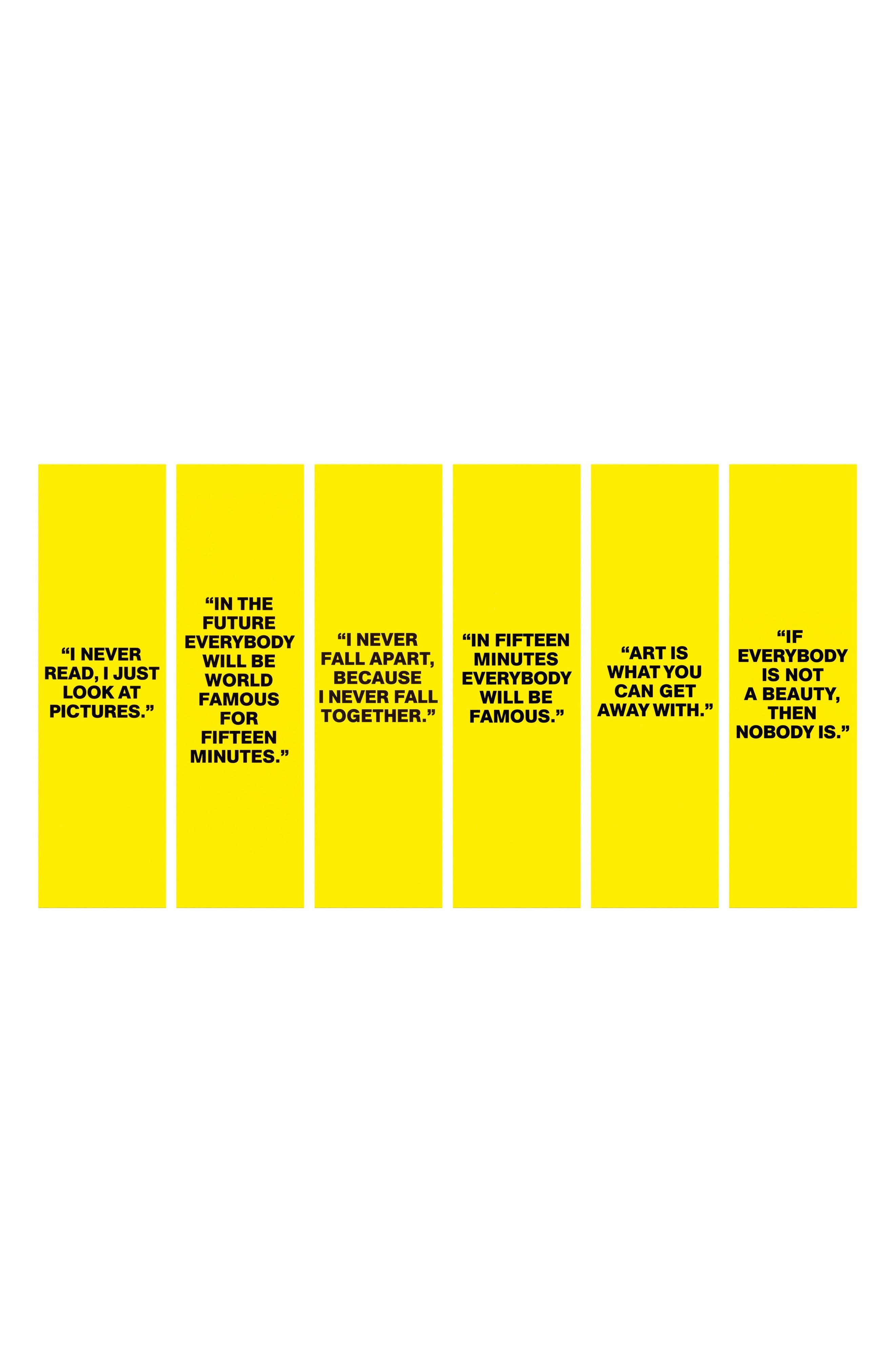 Andy Warhol You're In Unisex Eau de Toilette,                             Alternate thumbnail 2, color,                             In Fifteen Minutes